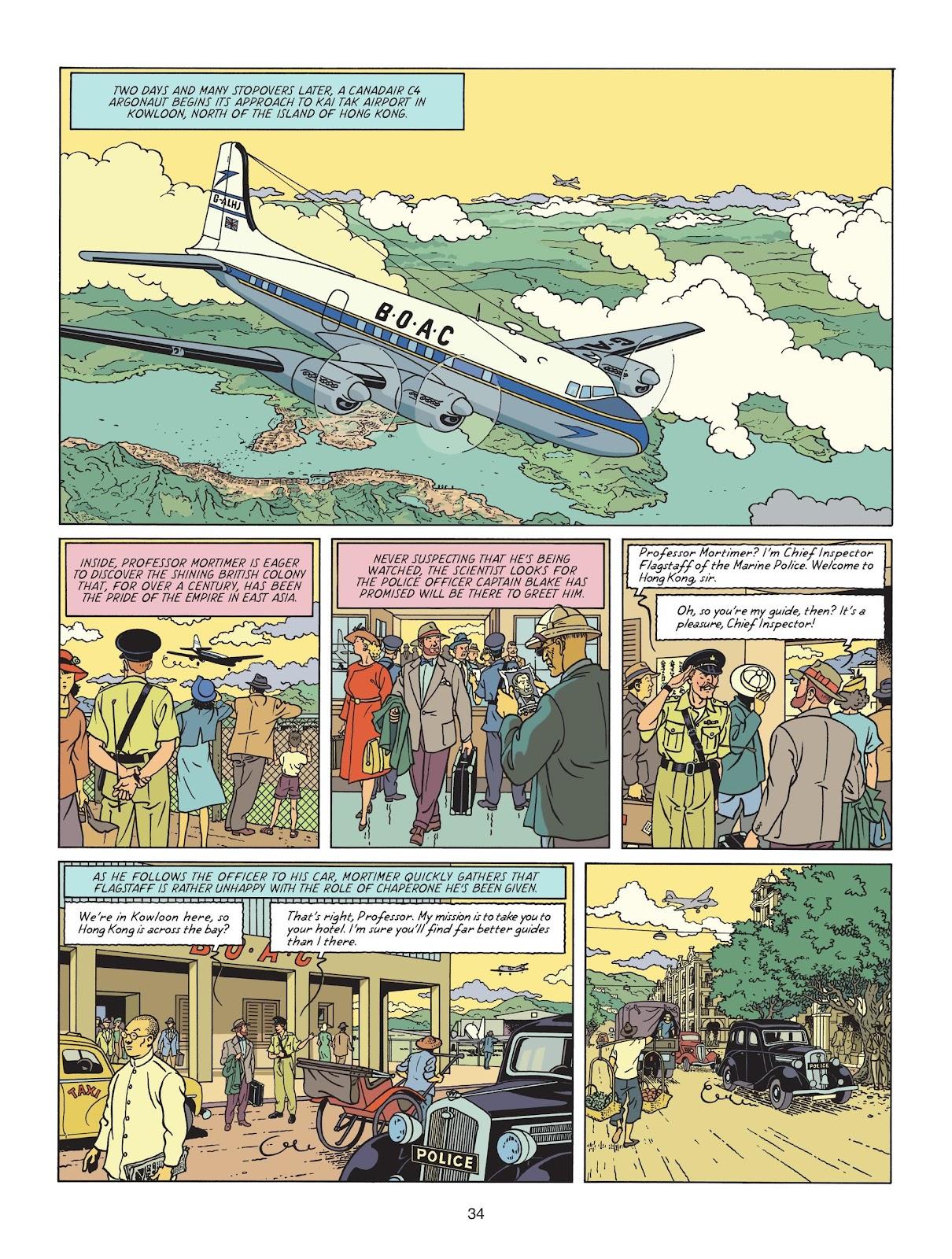 Read online Blake & Mortimer comic -  Issue #25 - 36