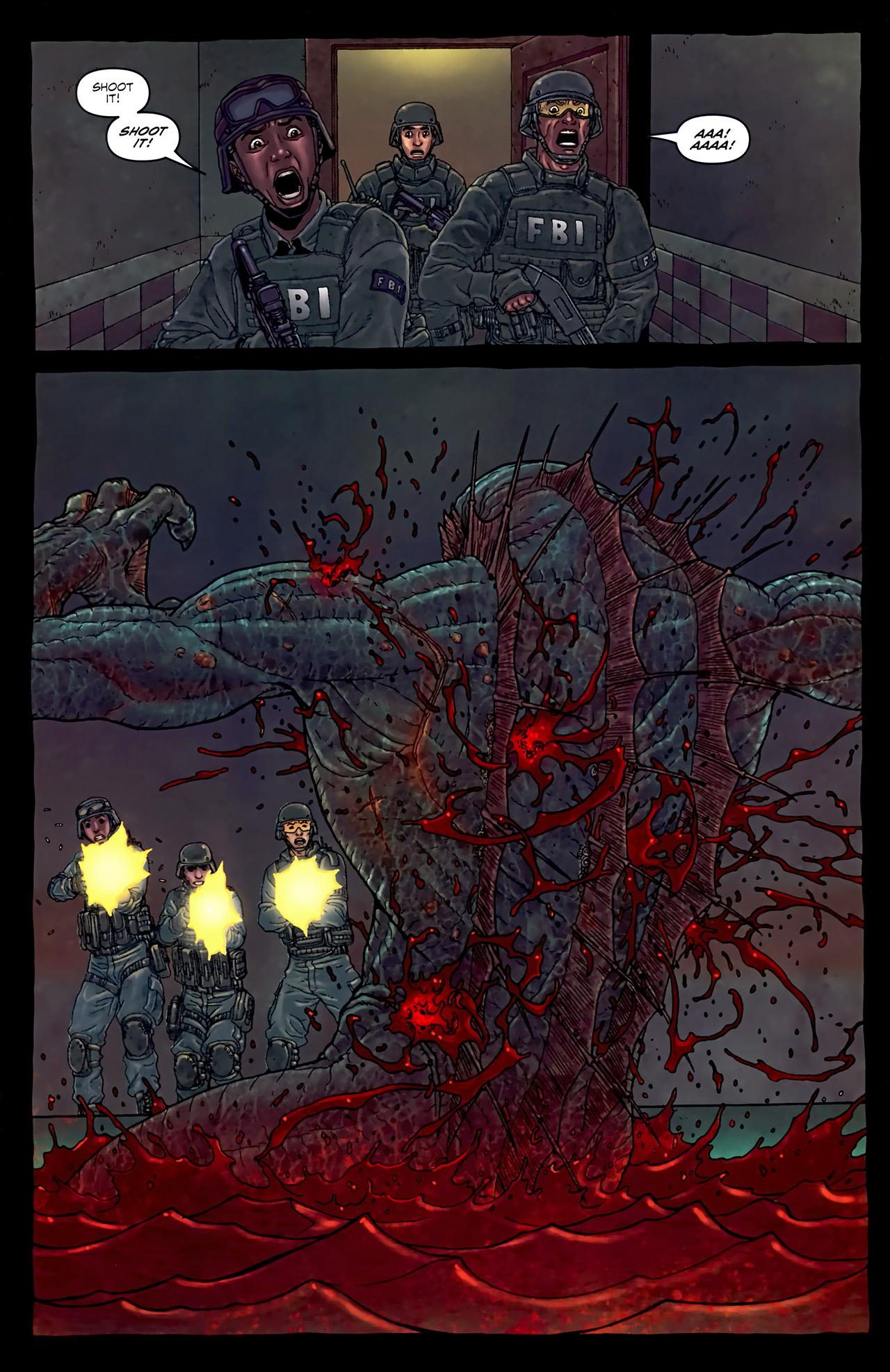 Read online Alan Moore's Neonomicon comic -  Issue #4 - 17