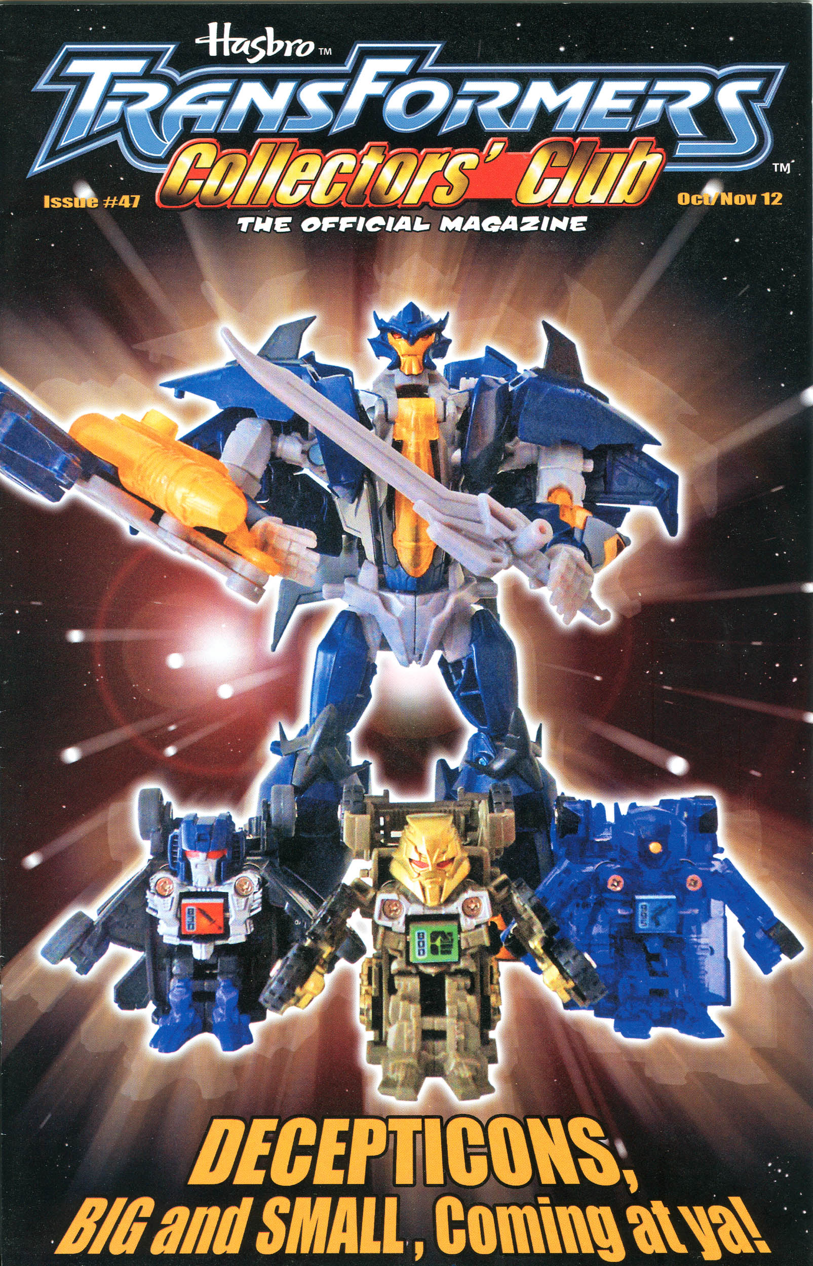 Read online Transformers: Collectors' Club comic -  Issue #47 - 1