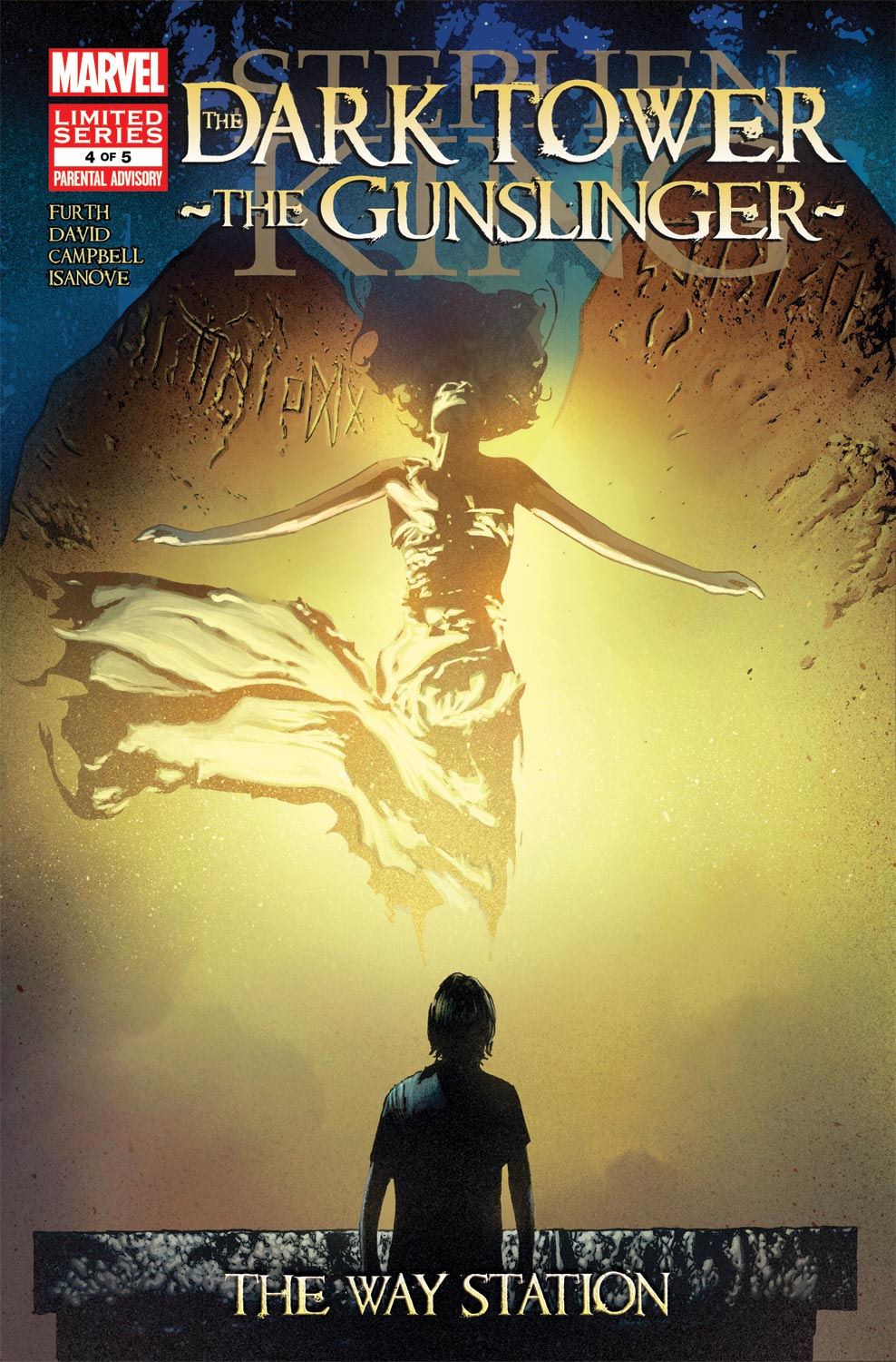 Read online Dark Tower: The Gunslinger - The Way Station comic -  Issue #4 - 1