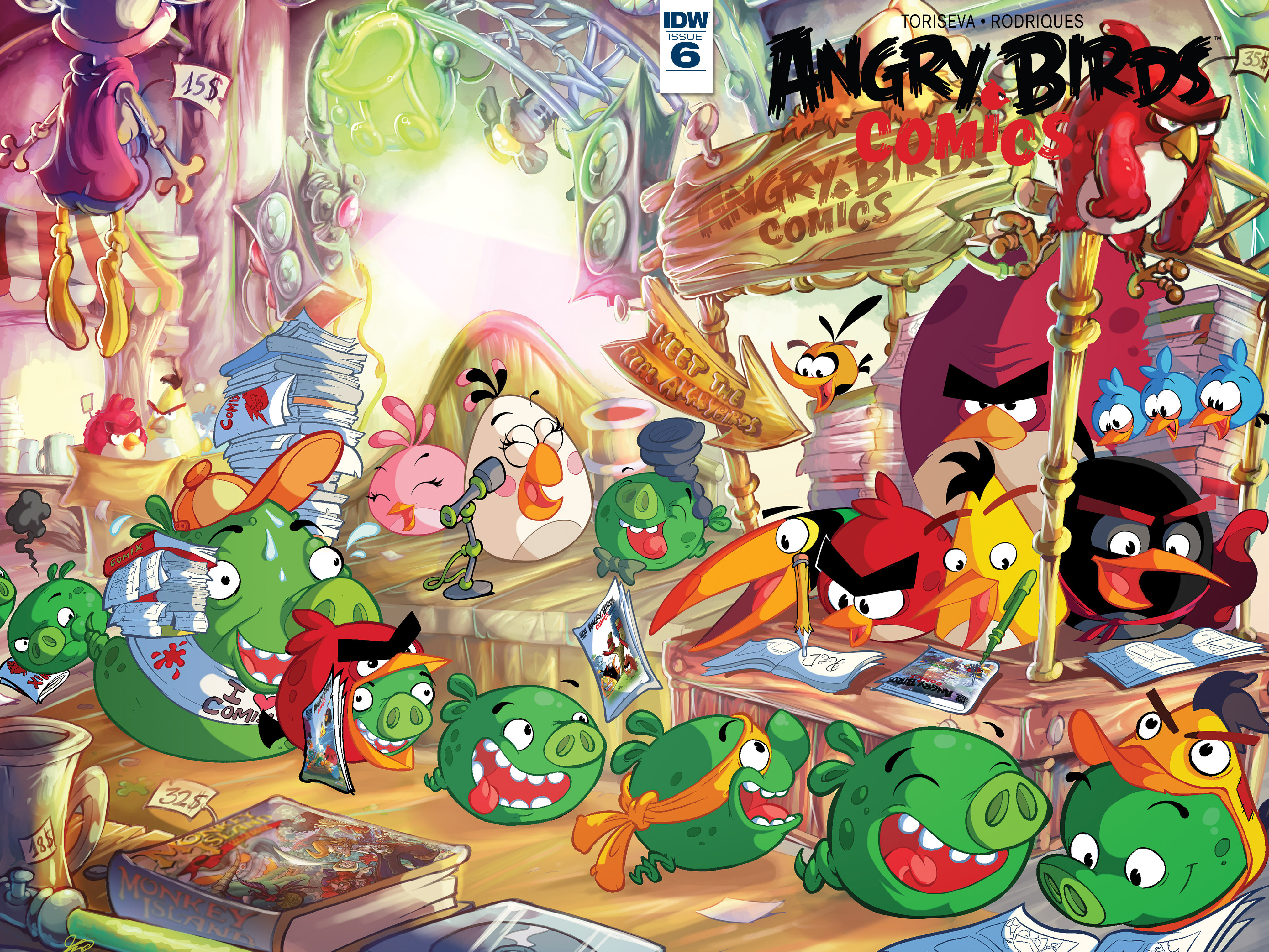 Read online Angry Birds Comics (2016) comic -  Issue #6 - 1