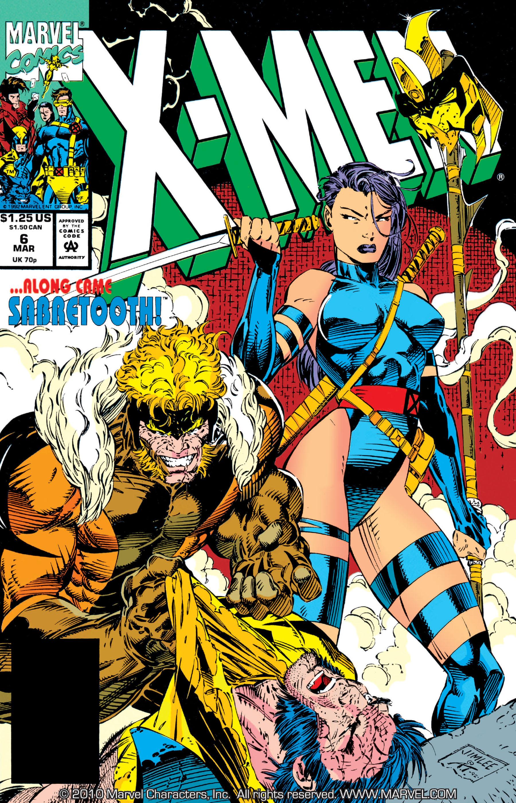 X-Men (1991) 6 Page 0