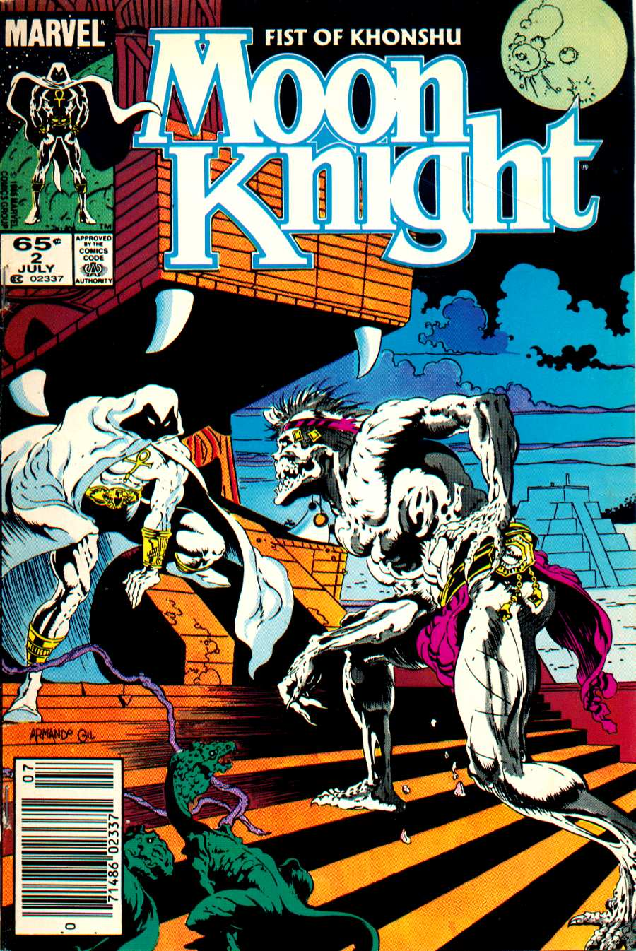 Moon Knight: Fist of Khonshu issue 2 - Page 1