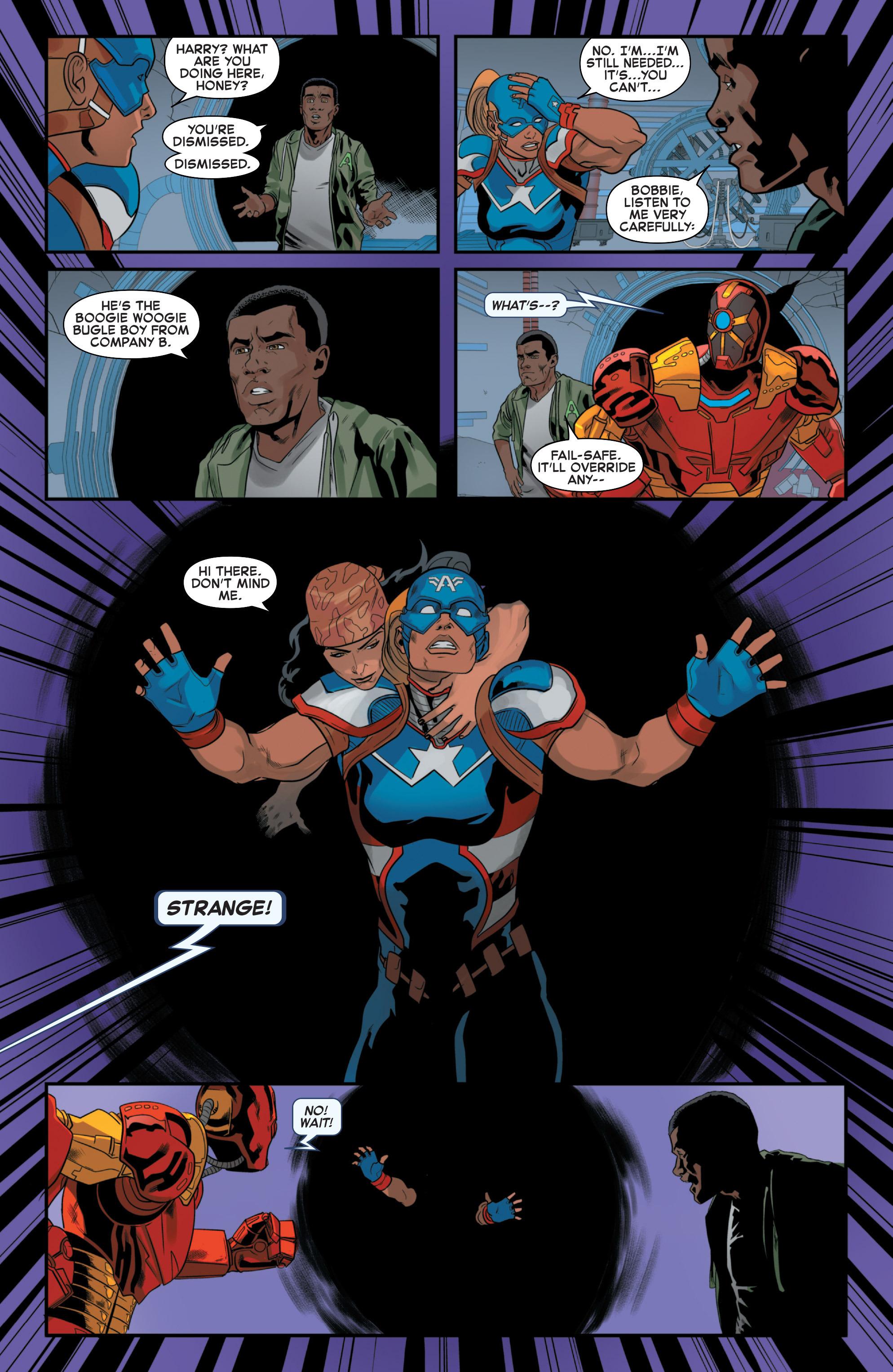 Read online Secret Wars 2099 comic -  Issue #4 - 21