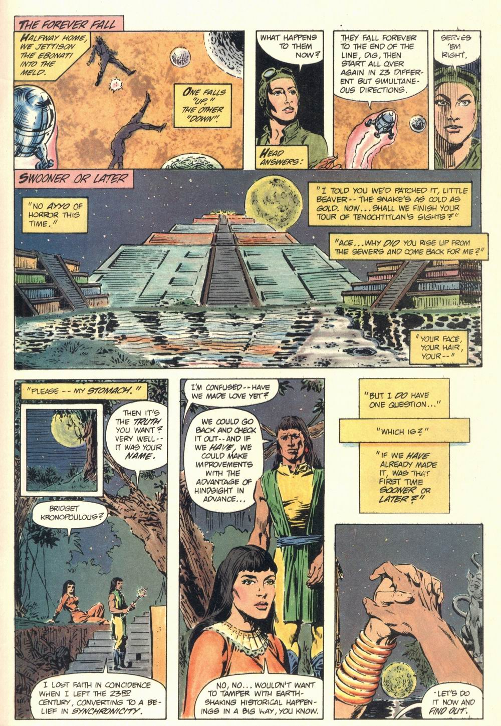 Read online Aztec Ace comic -  Issue #1 - 44