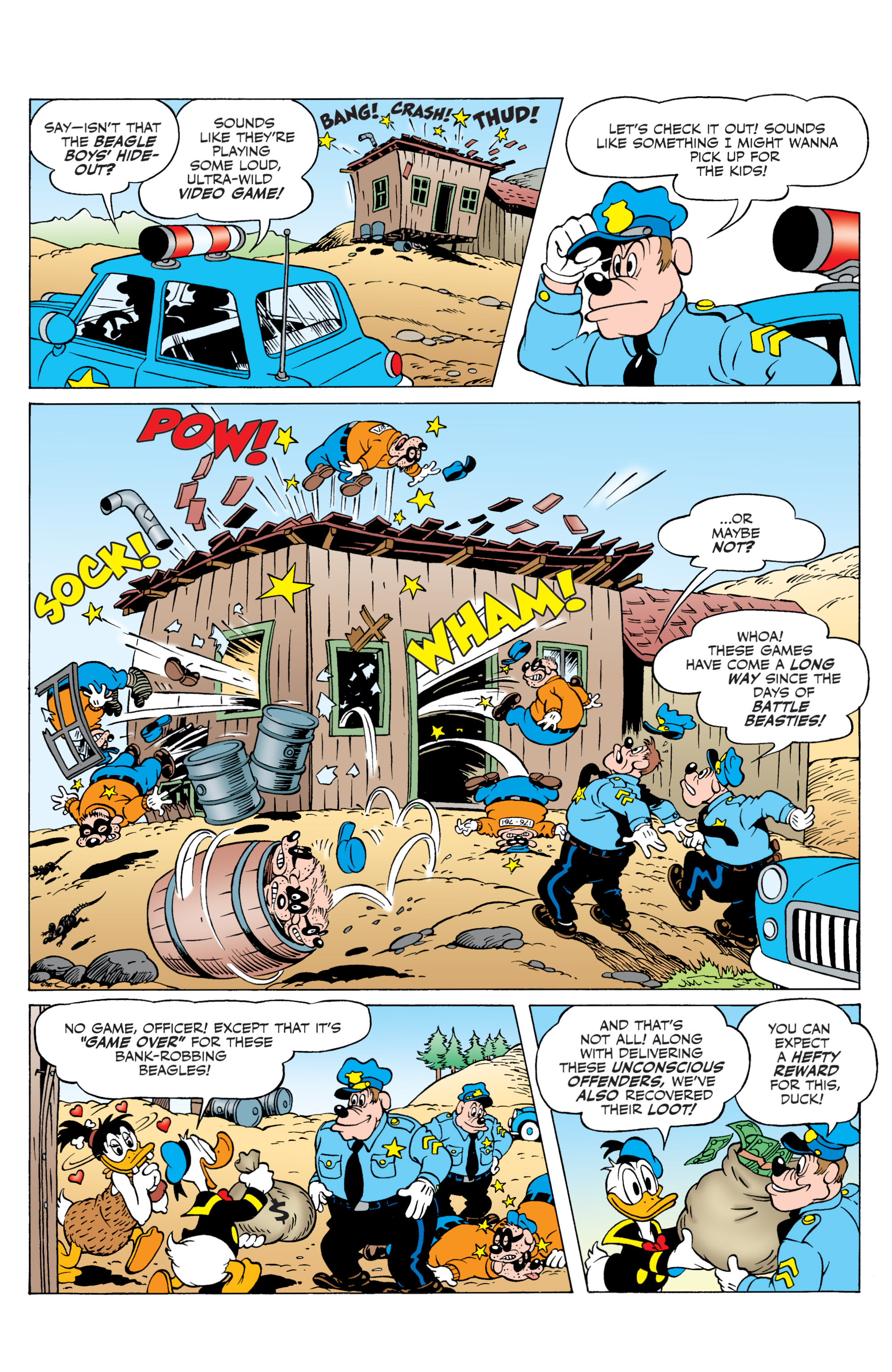 Read online Donald Duck (2015) comic -  Issue #21 - 33