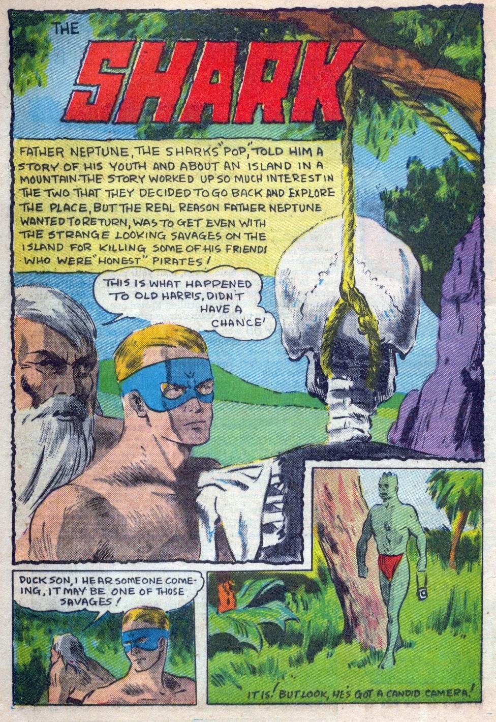 Read online Amazing Man Comics comic -  Issue #15 - 35