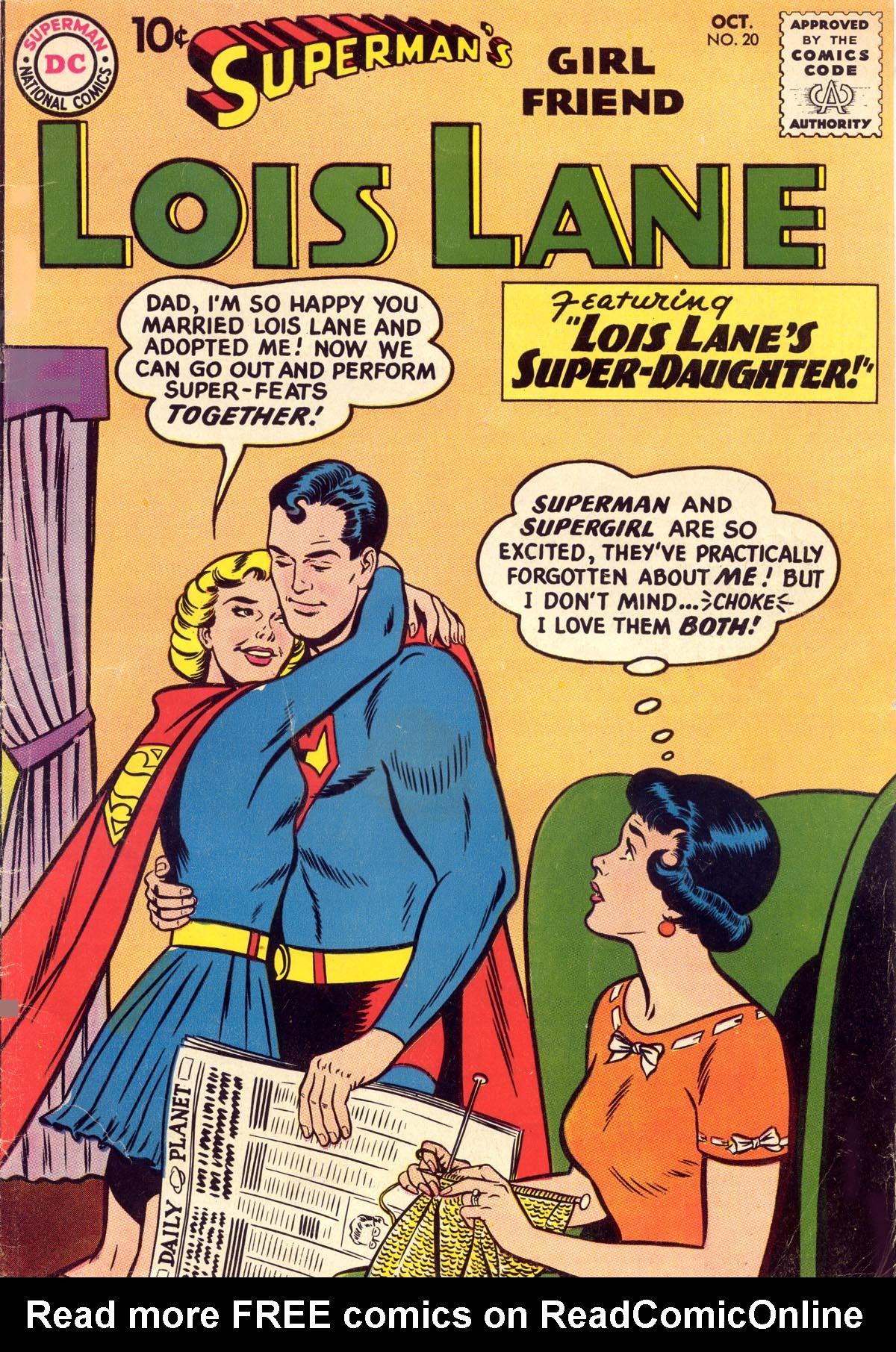 Supermans Girl Friend, Lois Lane 20 Page 1