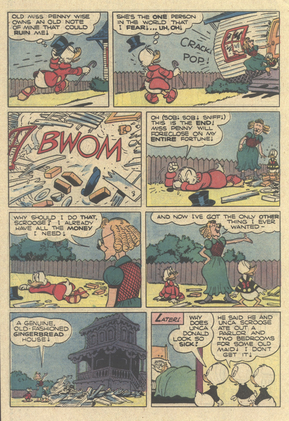 Read online Uncle Scrooge (1953) comic -  Issue #218 - 34