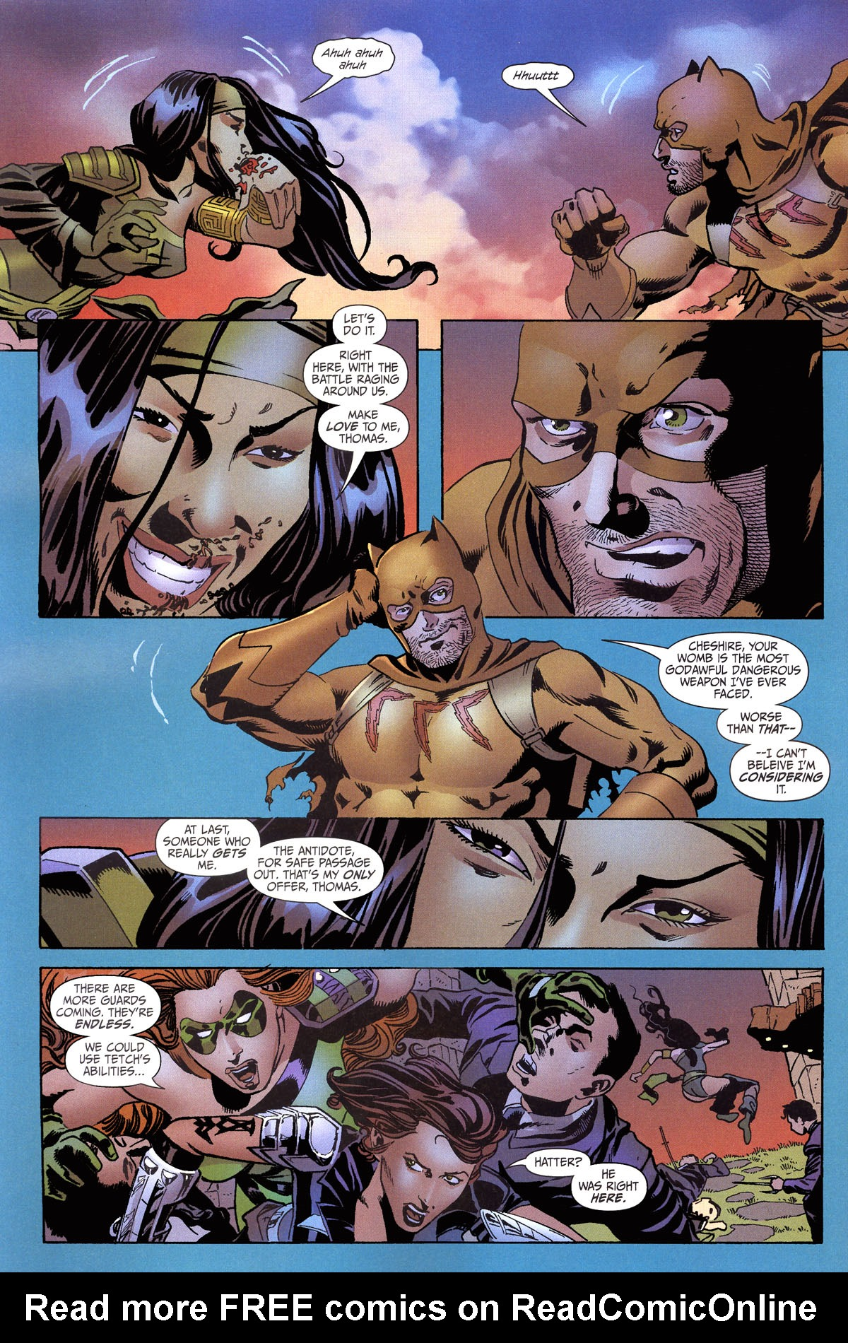 Read online Secret Six (2006) comic -  Issue #6 - 10