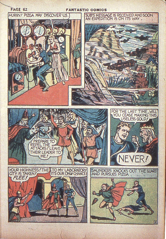 Read online Fantastic Comics comic -  Issue #4 - 63