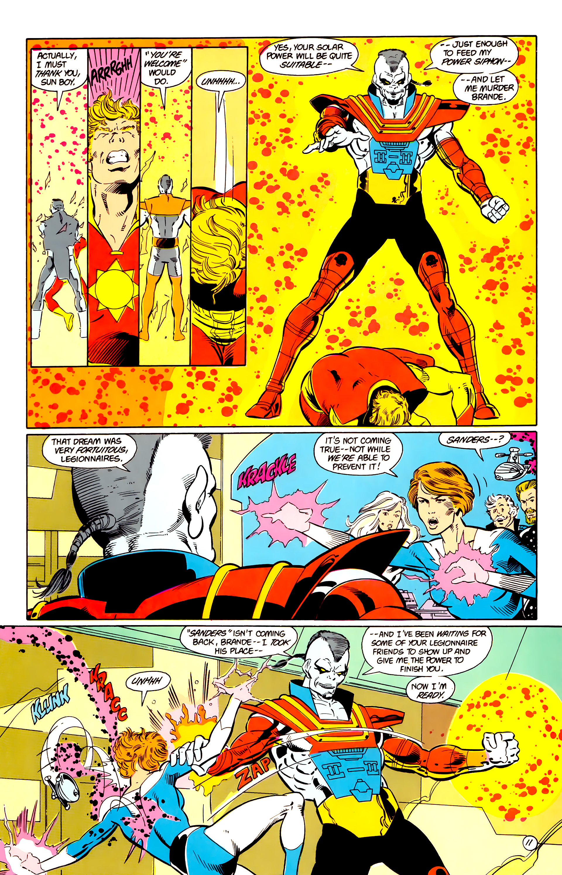 Legion of Super-Heroes (1984) 17 Page 12