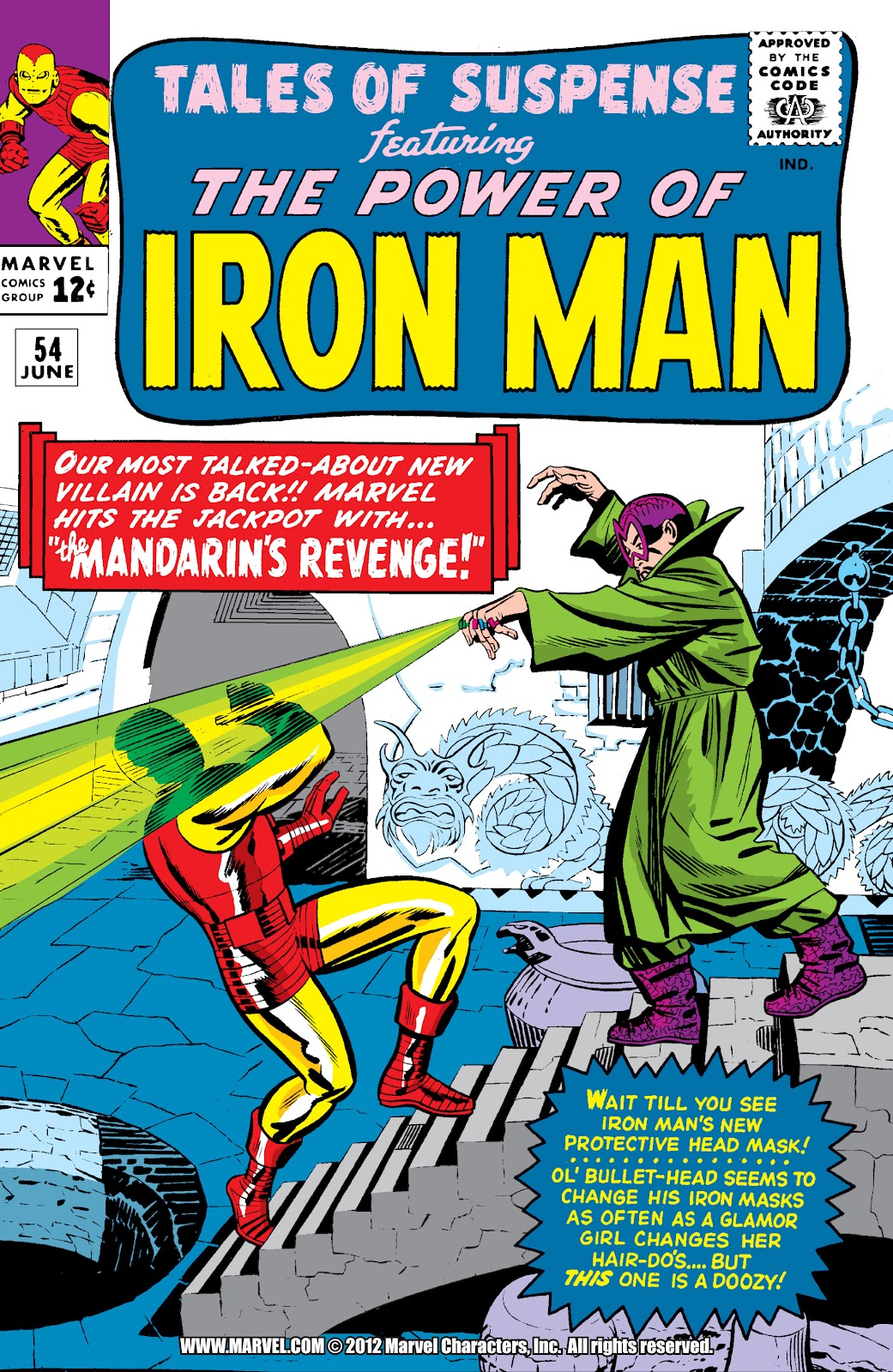 Read online Marvel Masterworks: The Invincible Iron Man comic -  Issue # TPB 2 (Part 1) - 45