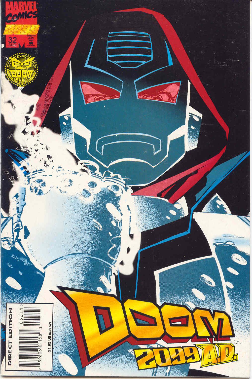 Doom 2099 #32 - Read Doom 2099 Issue #32 Online