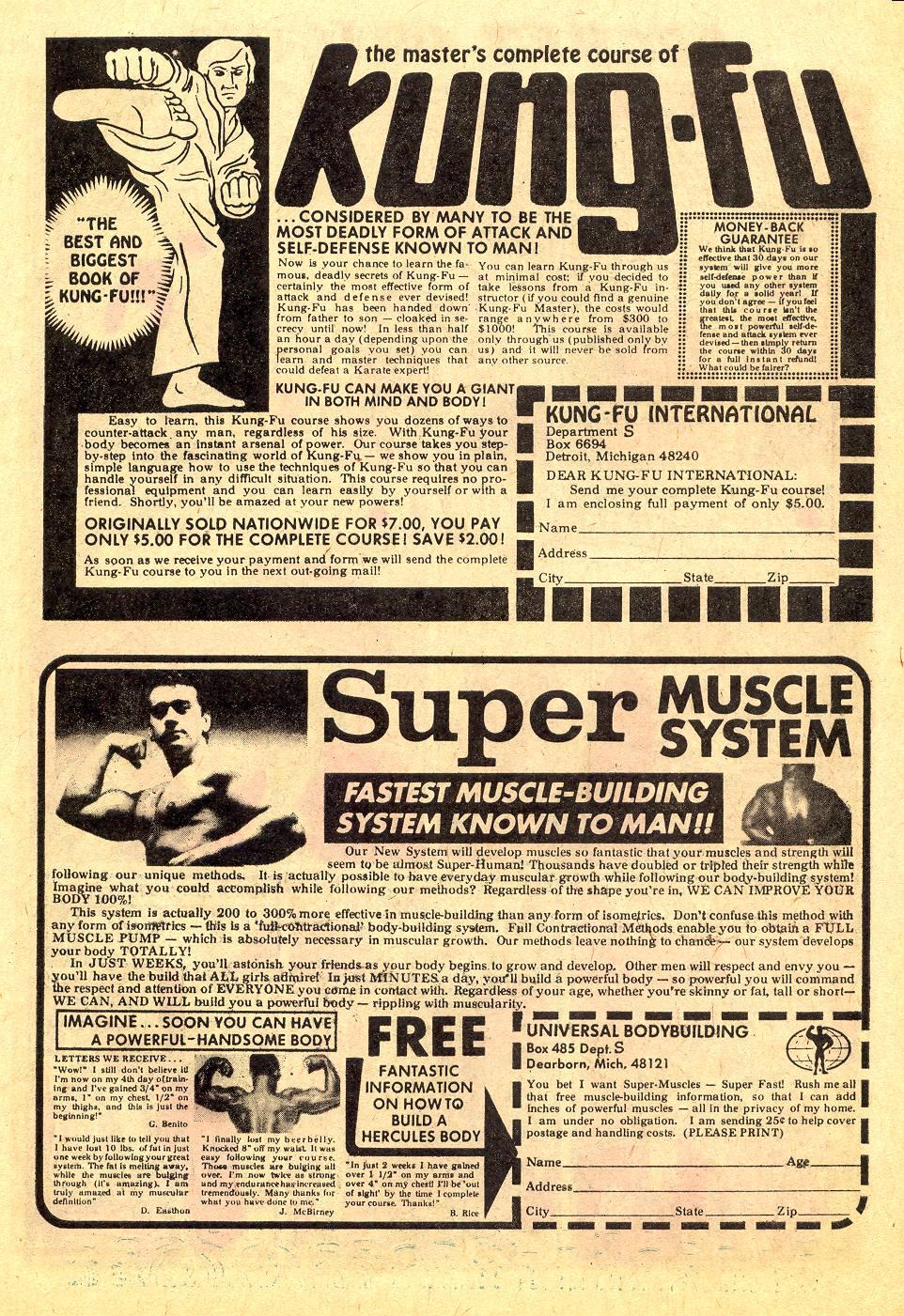 Read online Secret Origins (1973) comic -  Issue #7 - 7