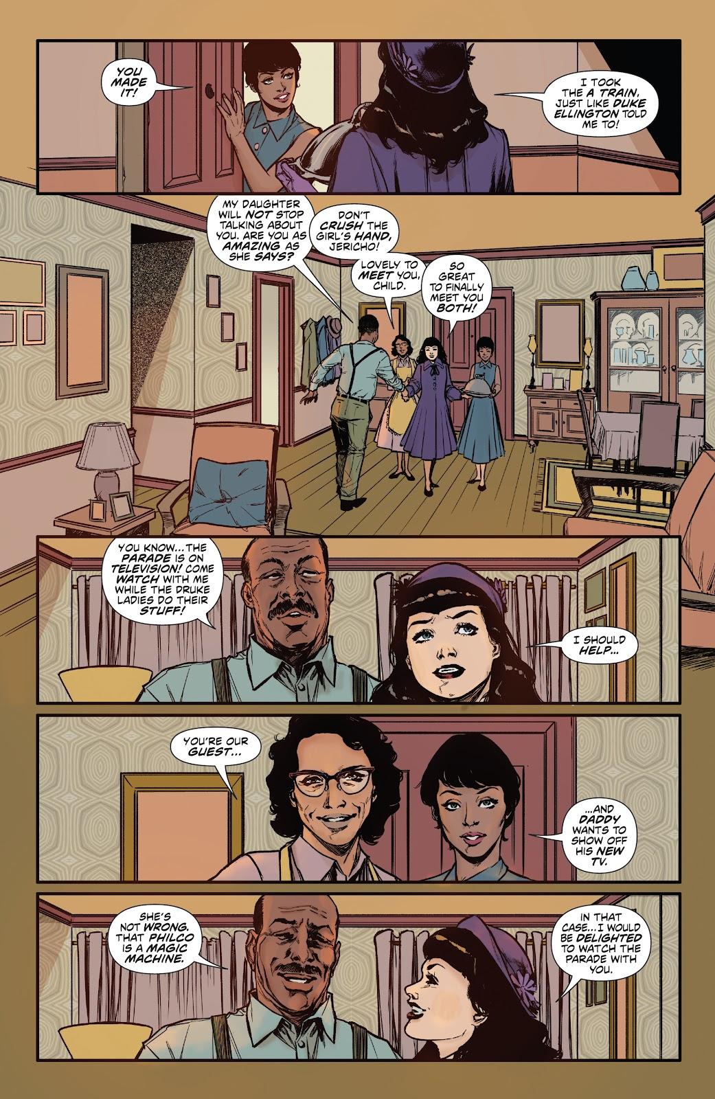 Read online Bettie Page: Unbound comic -  Issue #6 - 12