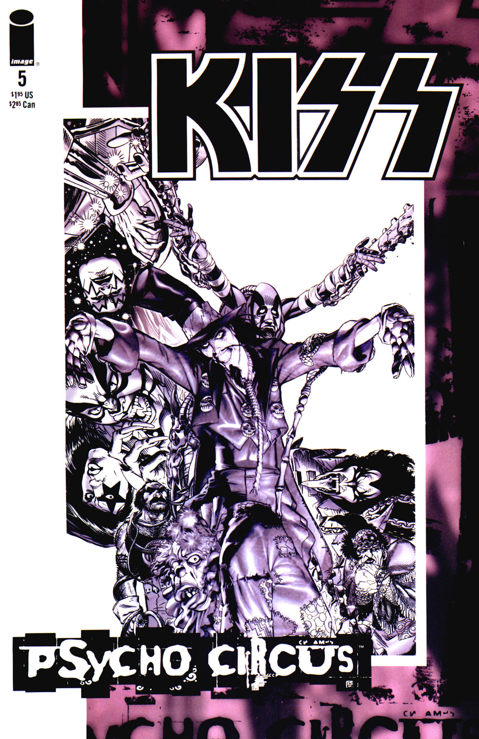 KISS: Psycho Circus issue 5 - Page 1