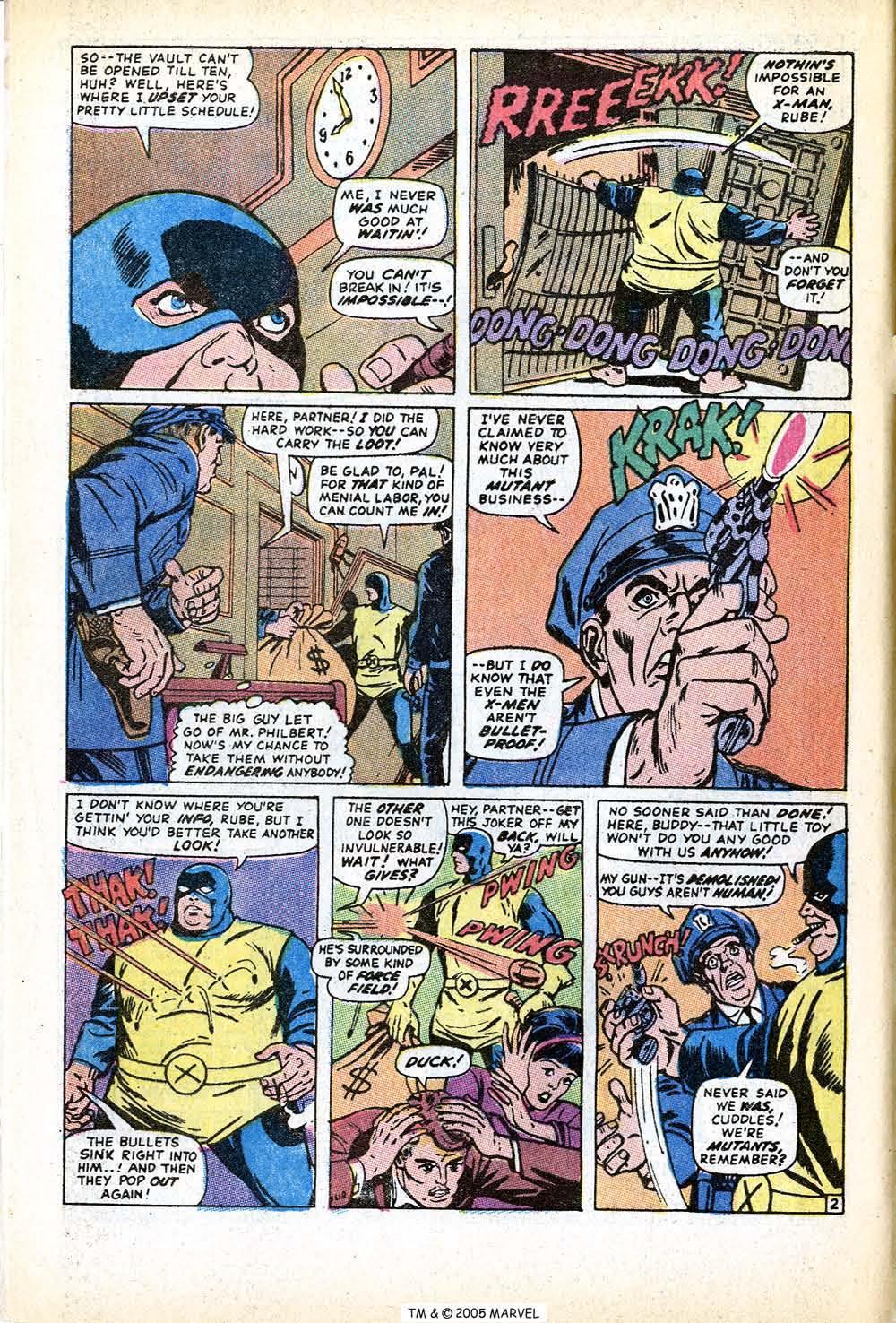 Uncanny X-Men (1963) issue 71 - Page 4