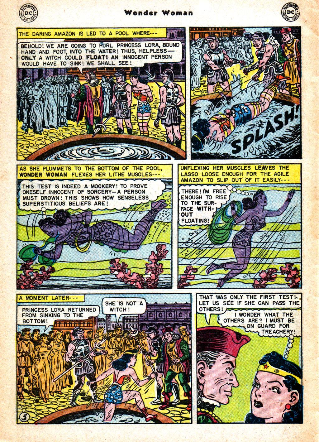 Read online Wonder Woman (1942) comic -  Issue #57 - 35