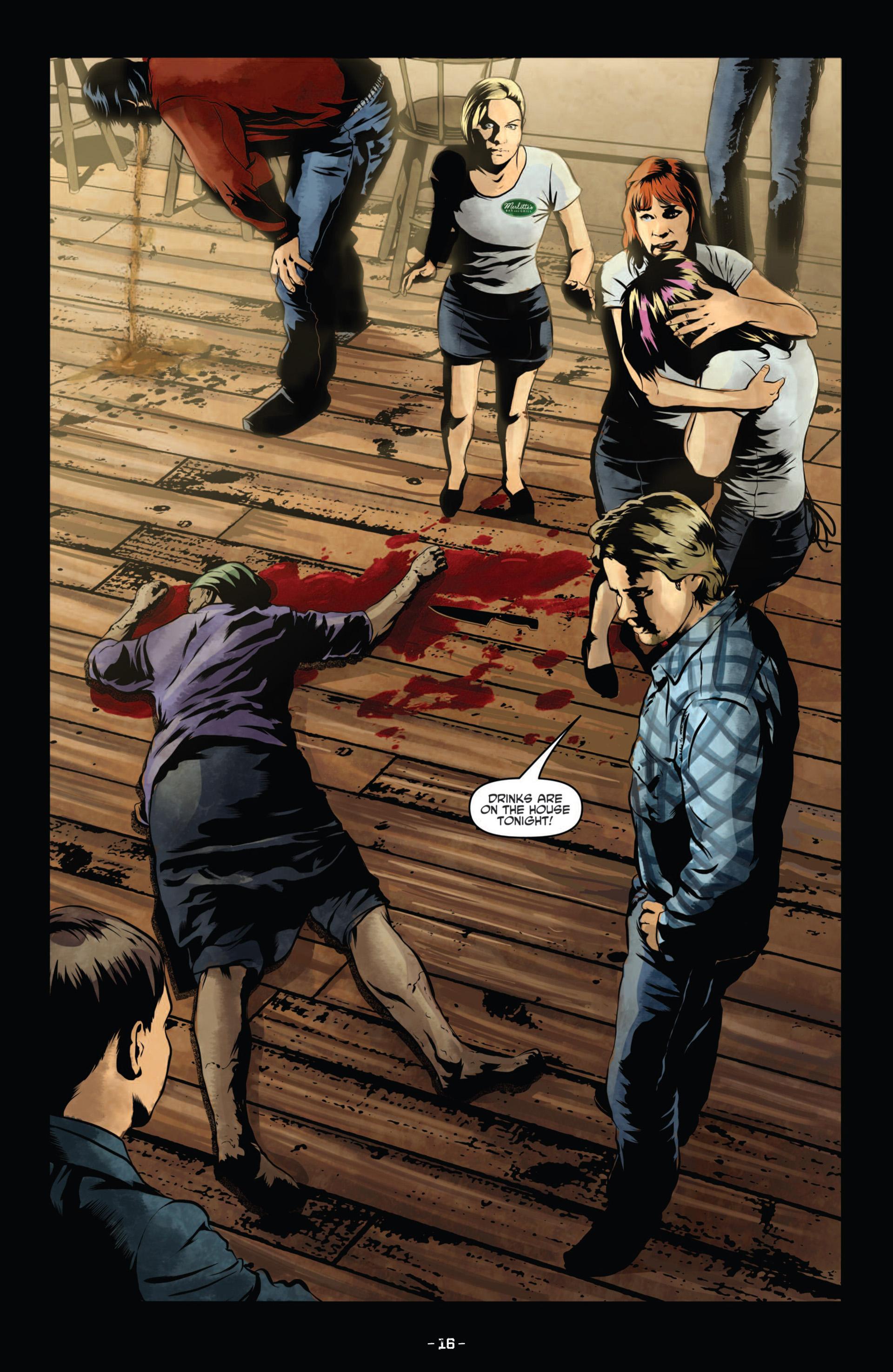Read online True Blood (2012) comic -  Issue #11 - 19