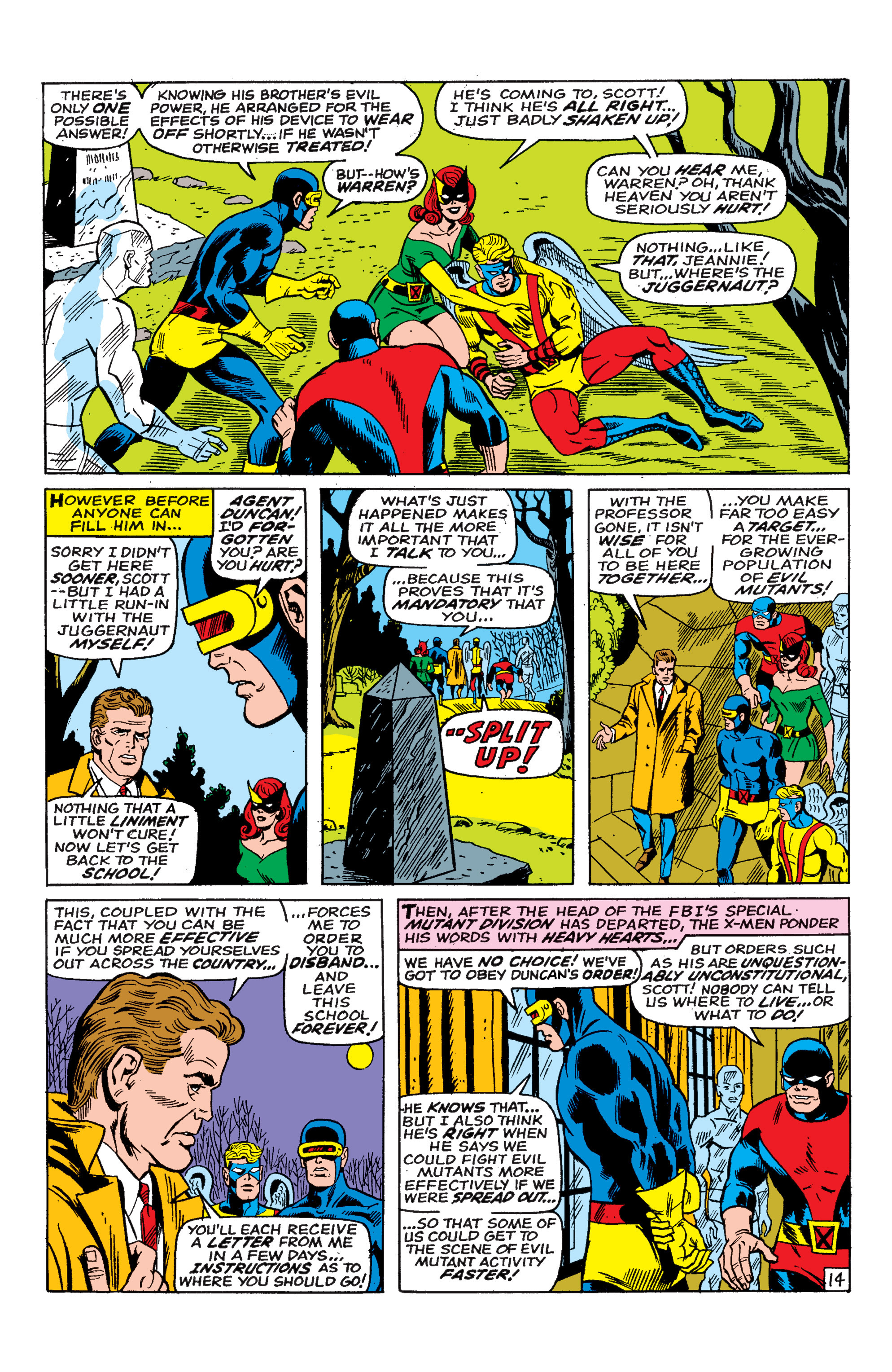 Read online Uncanny X-Men (1963) comic -  Issue #46 - 15