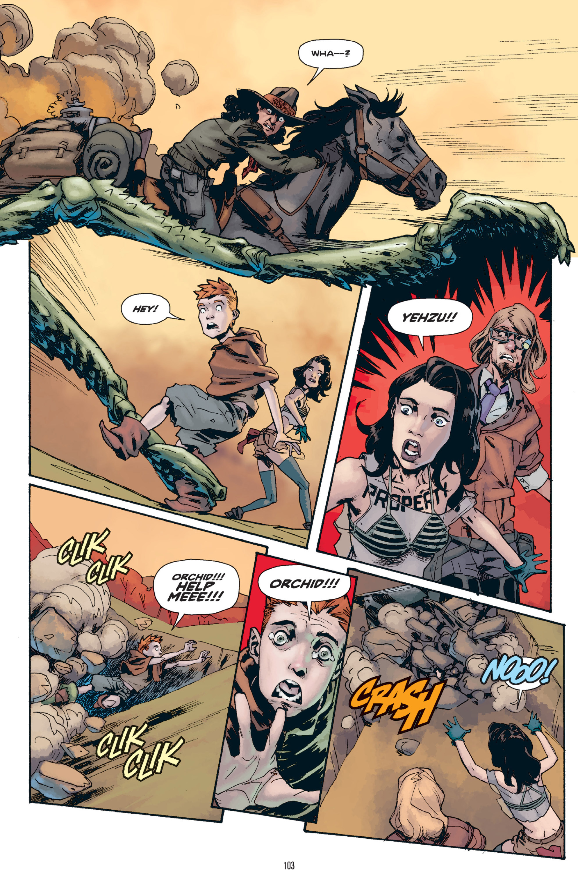 Read online Orchid comic -  Issue # TPB 1 - 102