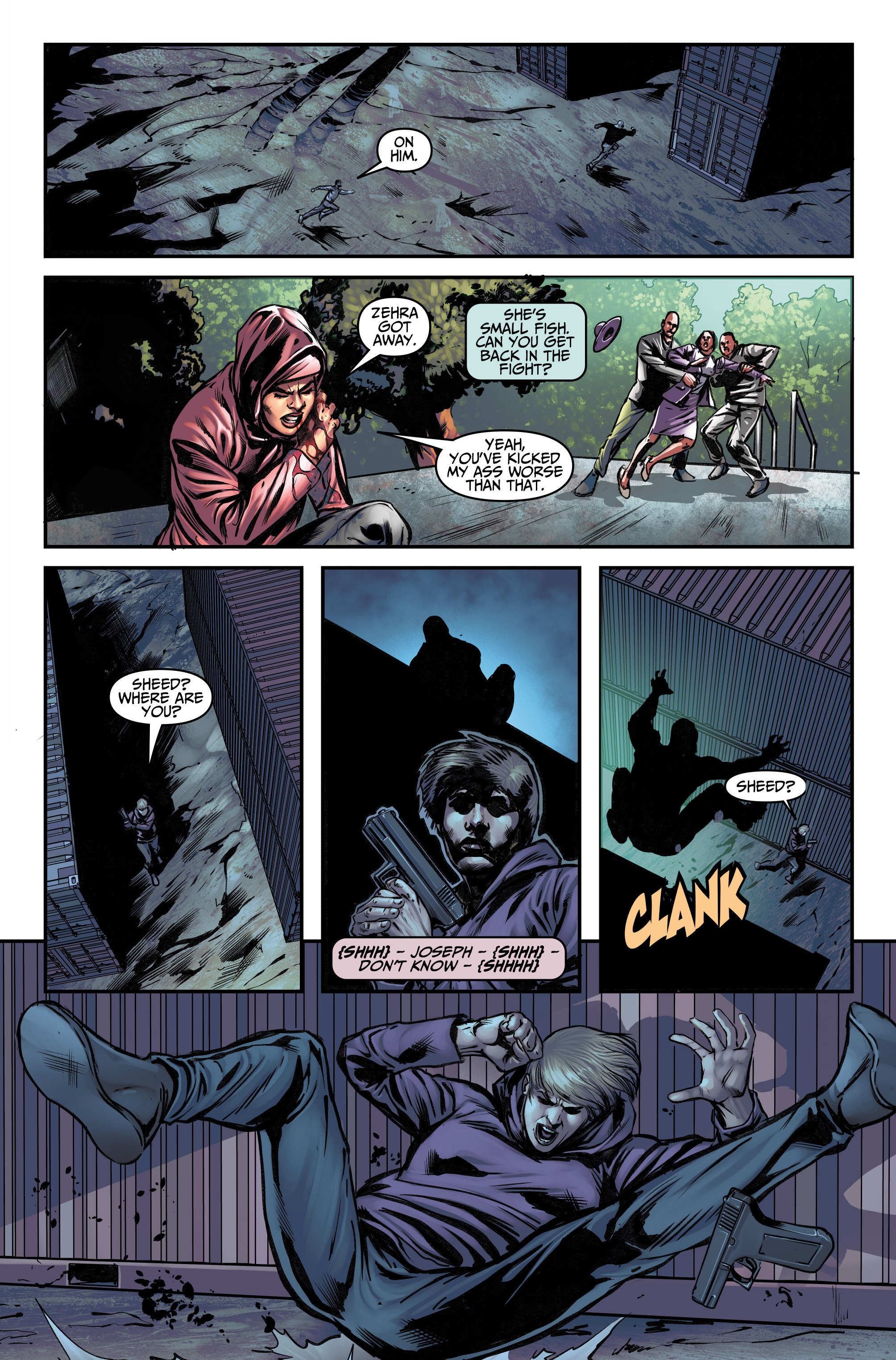 Read online Assassin's Creed (2015) comic -  Issue #12 - 13