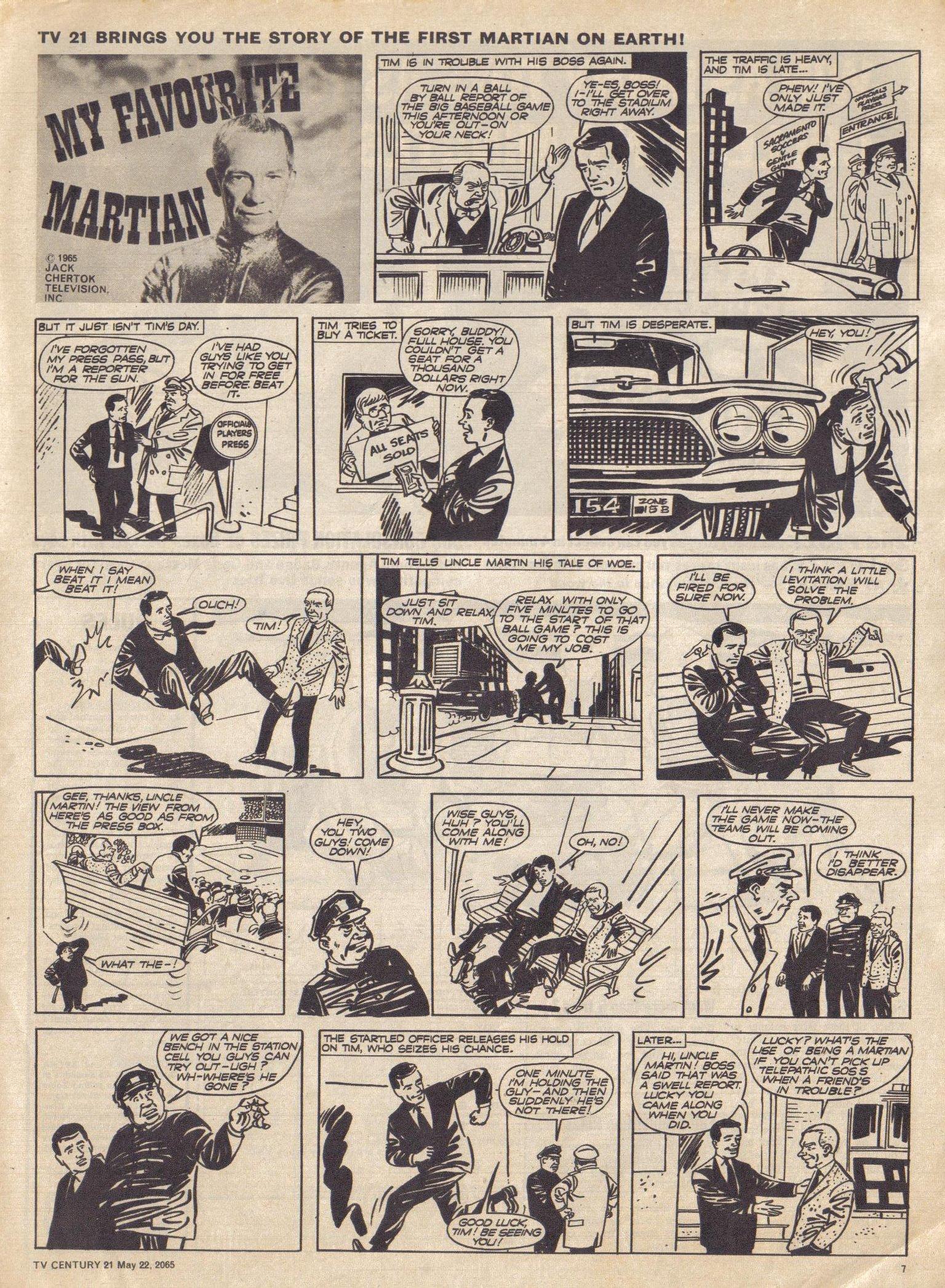 Read online TV Century 21 (TV 21) comic -  Issue #18 - 8