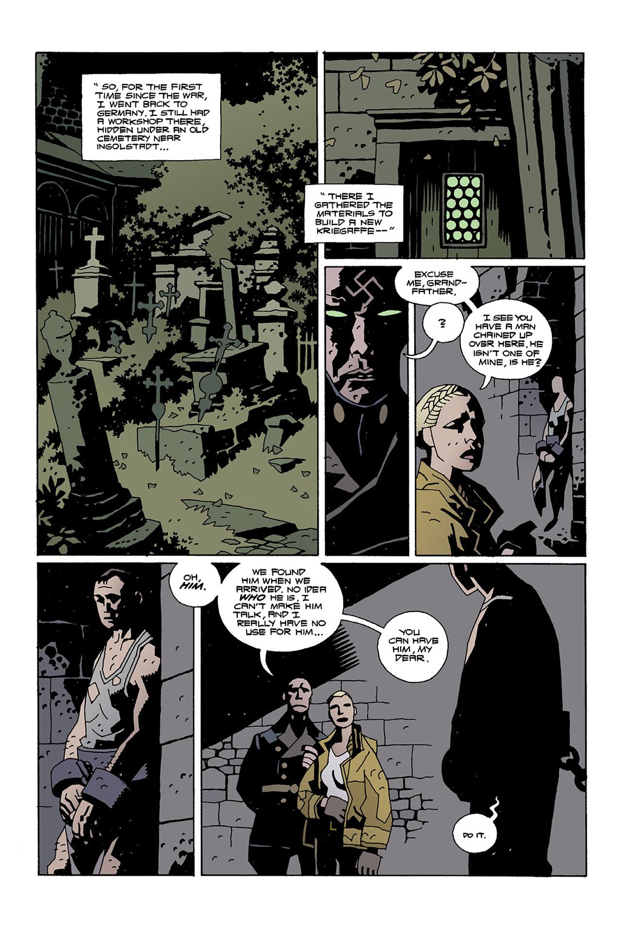 Read online Hellboy: Conqueror Worm comic -  Issue #2 - 7