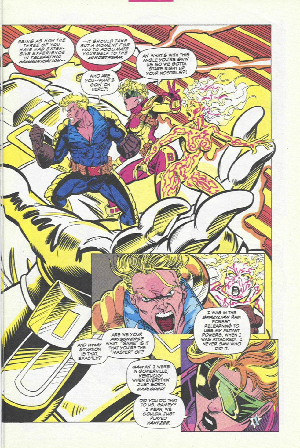 The New Warriors Issue #45 #49 - English 4