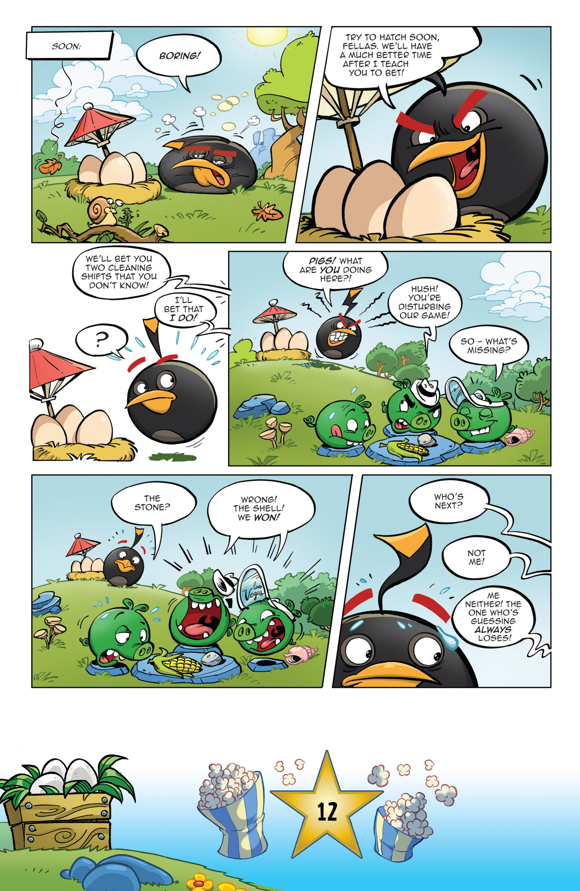 Read online Angry Birds Comics (2016) comic -  Issue #5 - 14