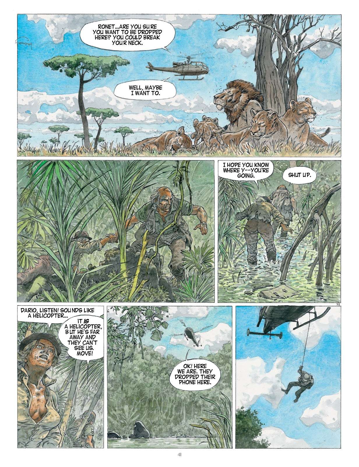 Read online Afrika comic -  Issue # TPB - 41