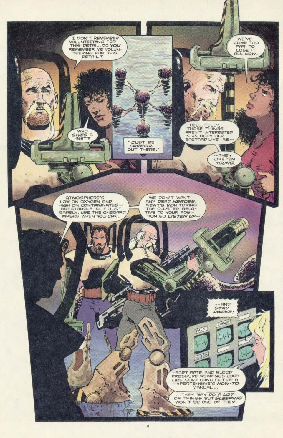 Read online Aliens: Earth War comic -  Issue #3 - 10