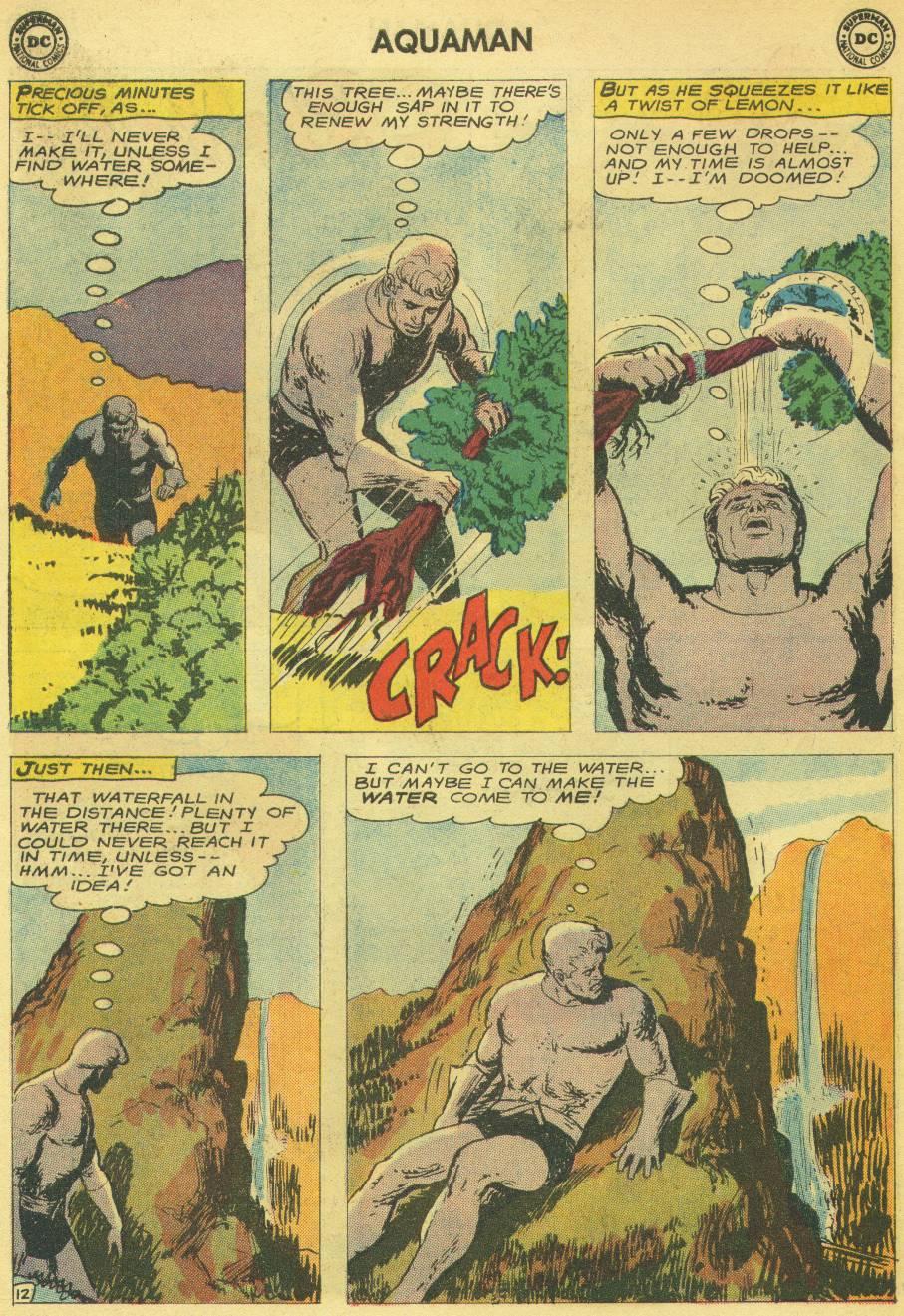 Read online Aquaman (1962) comic -  Issue #14 - 14