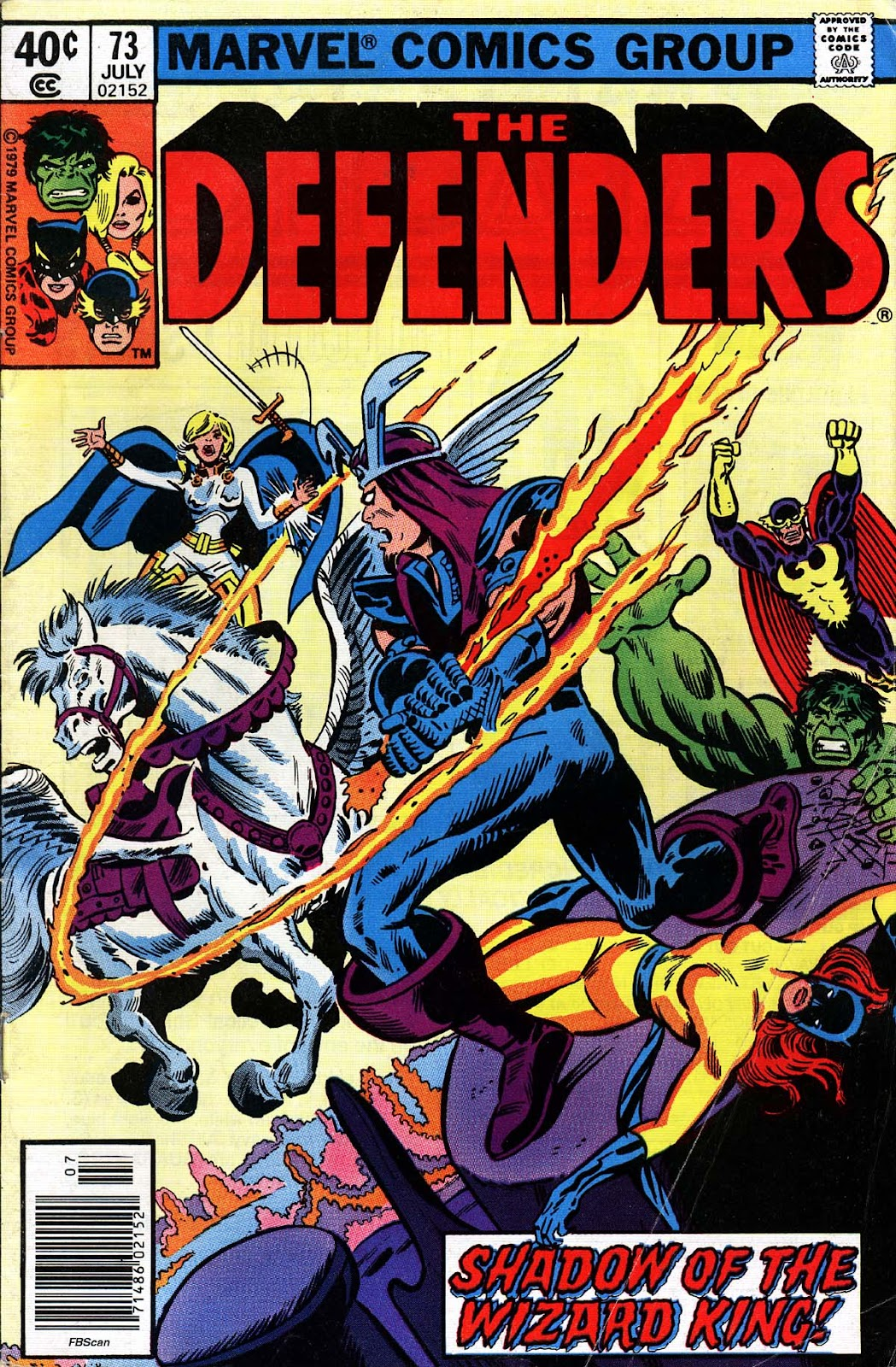 The Defenders (1972) 73 Page 1