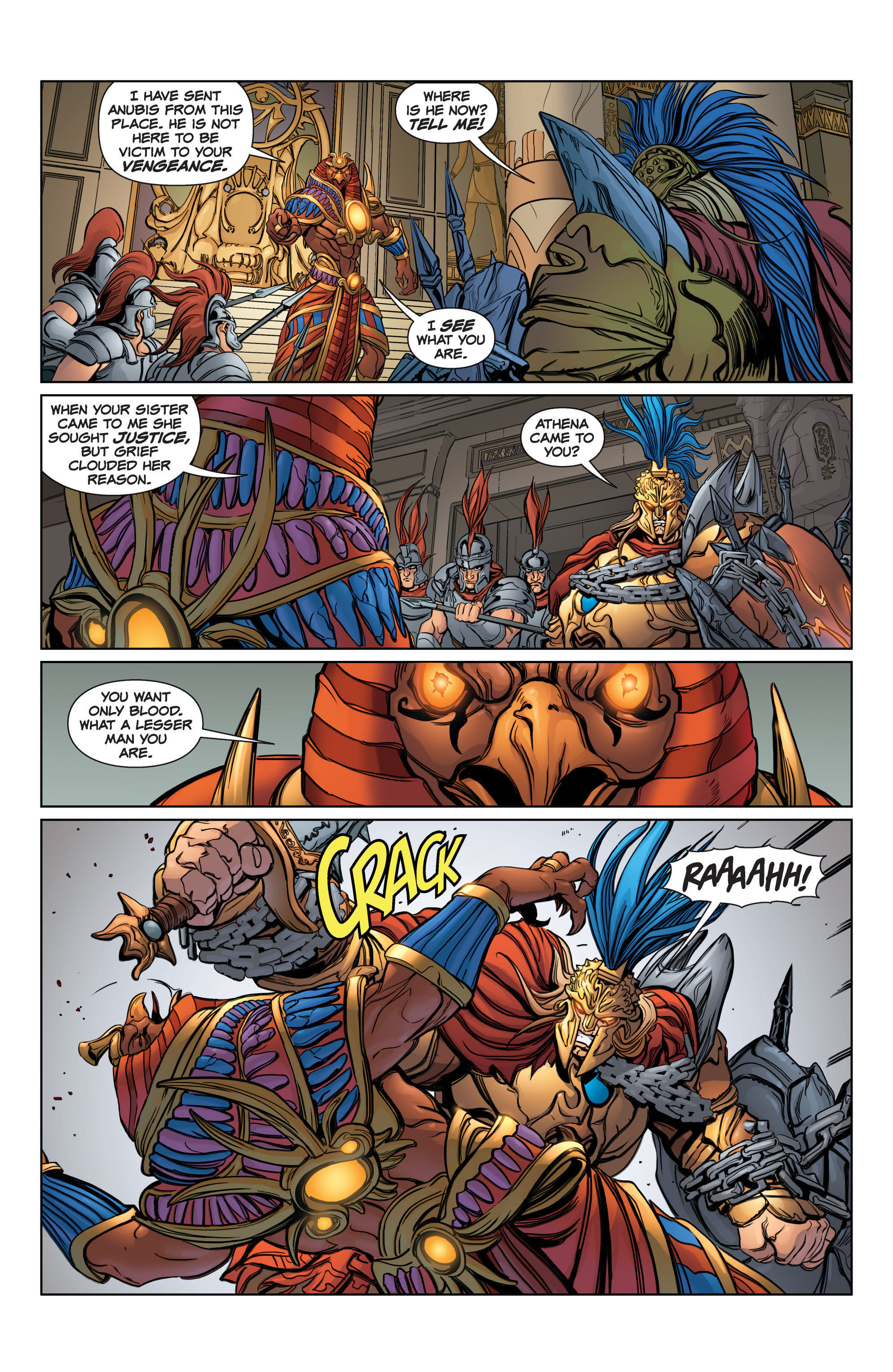 Read online SMITE: The Pantheon War comic -  Issue #3 - 5