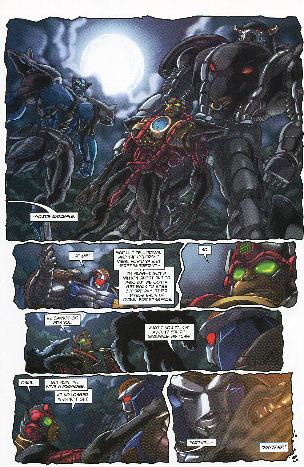 Read online Transformers 20th Anniversary Summer Special comic -  Issue # Full - 40