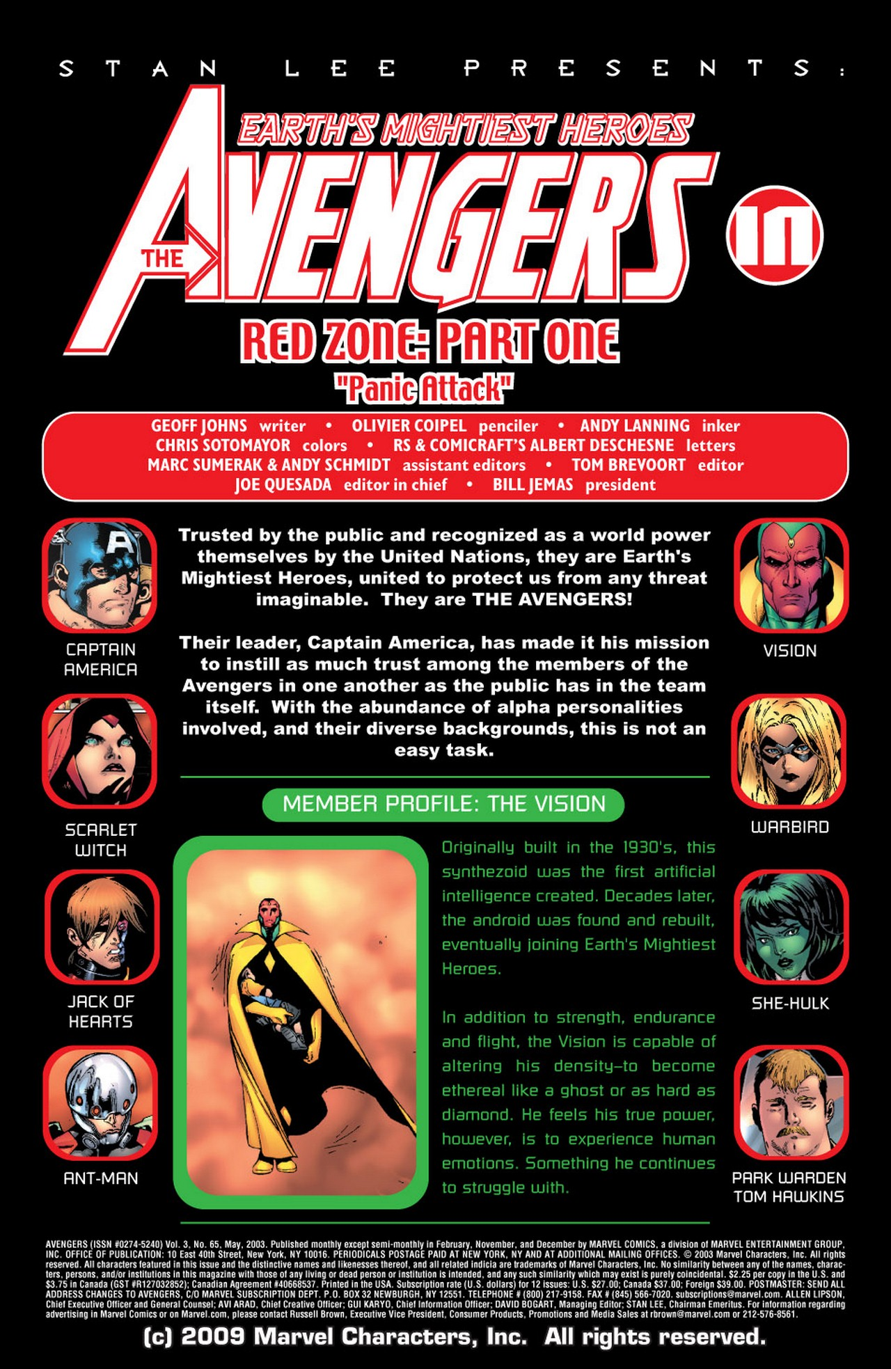 Read online Avengers (1998) comic -  Issue #65 - 2