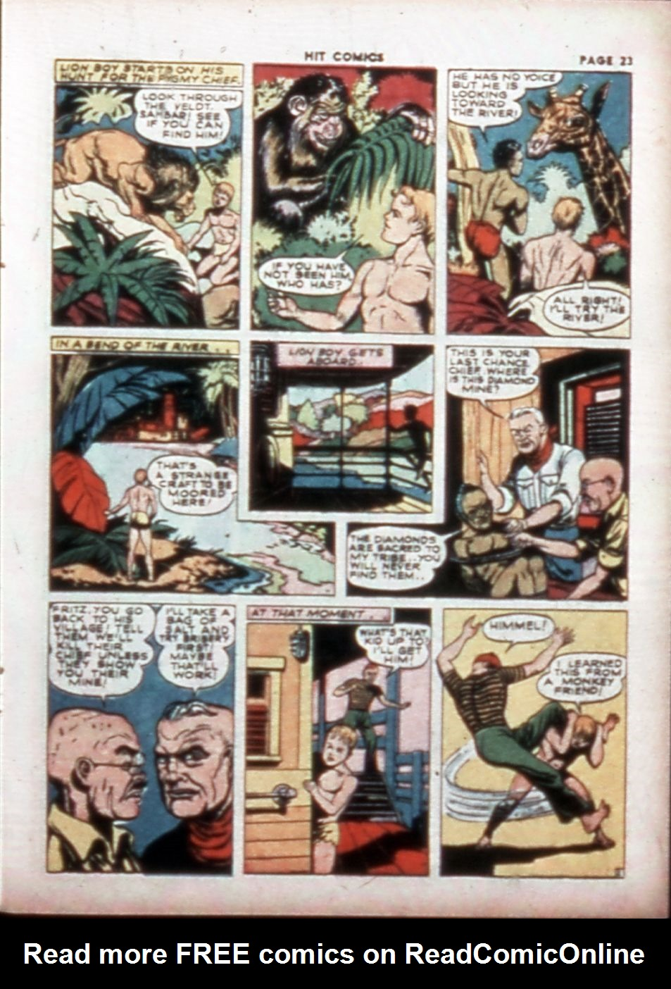 Read online Hit Comics comic -  Issue #14 - 25