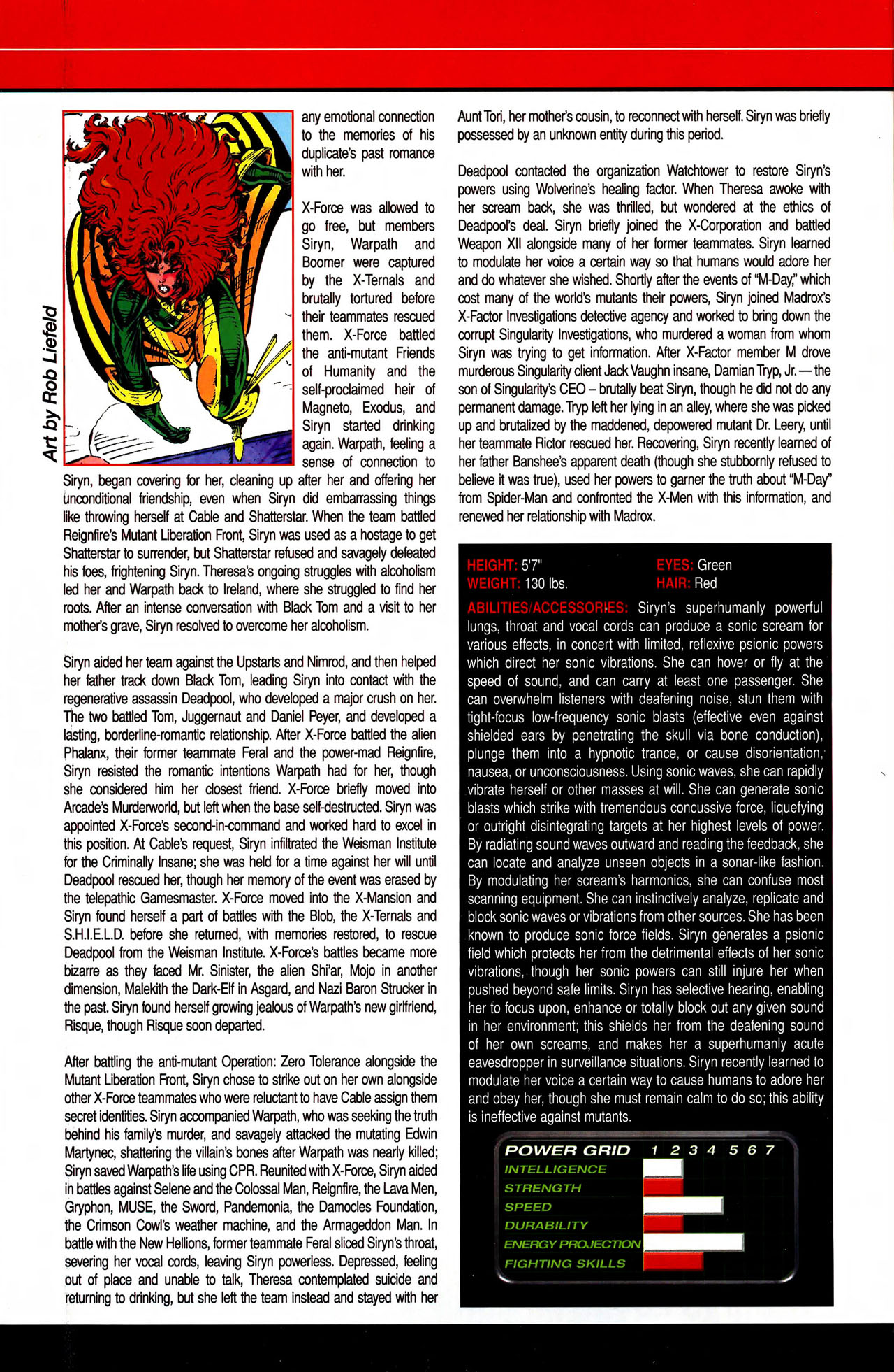 Read online All-New Official Handbook of the Marvel Universe A to Z comic -  Issue #10 - 18