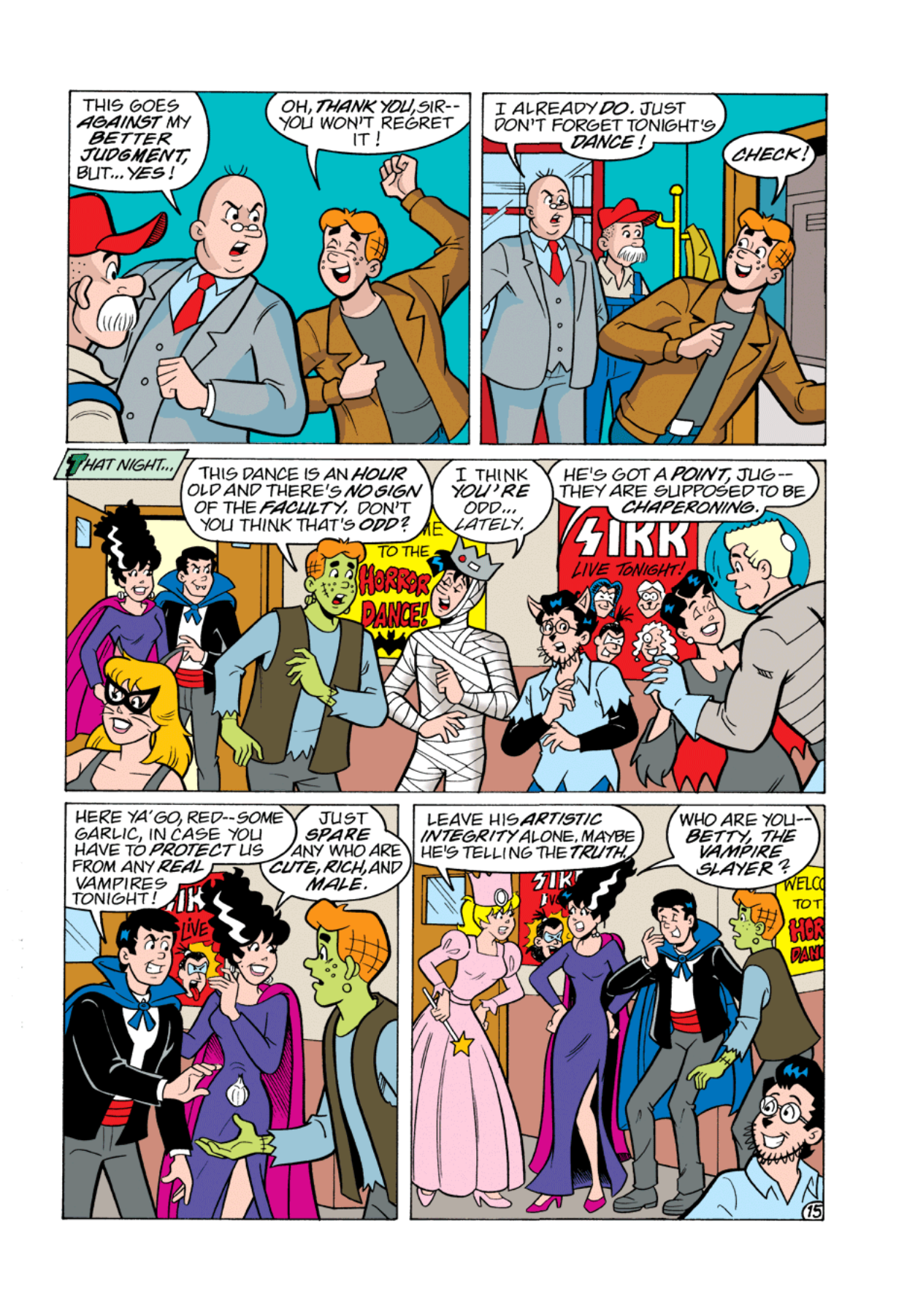 Read online Archie's Weird Mysteries comic -  Issue #1 - 16