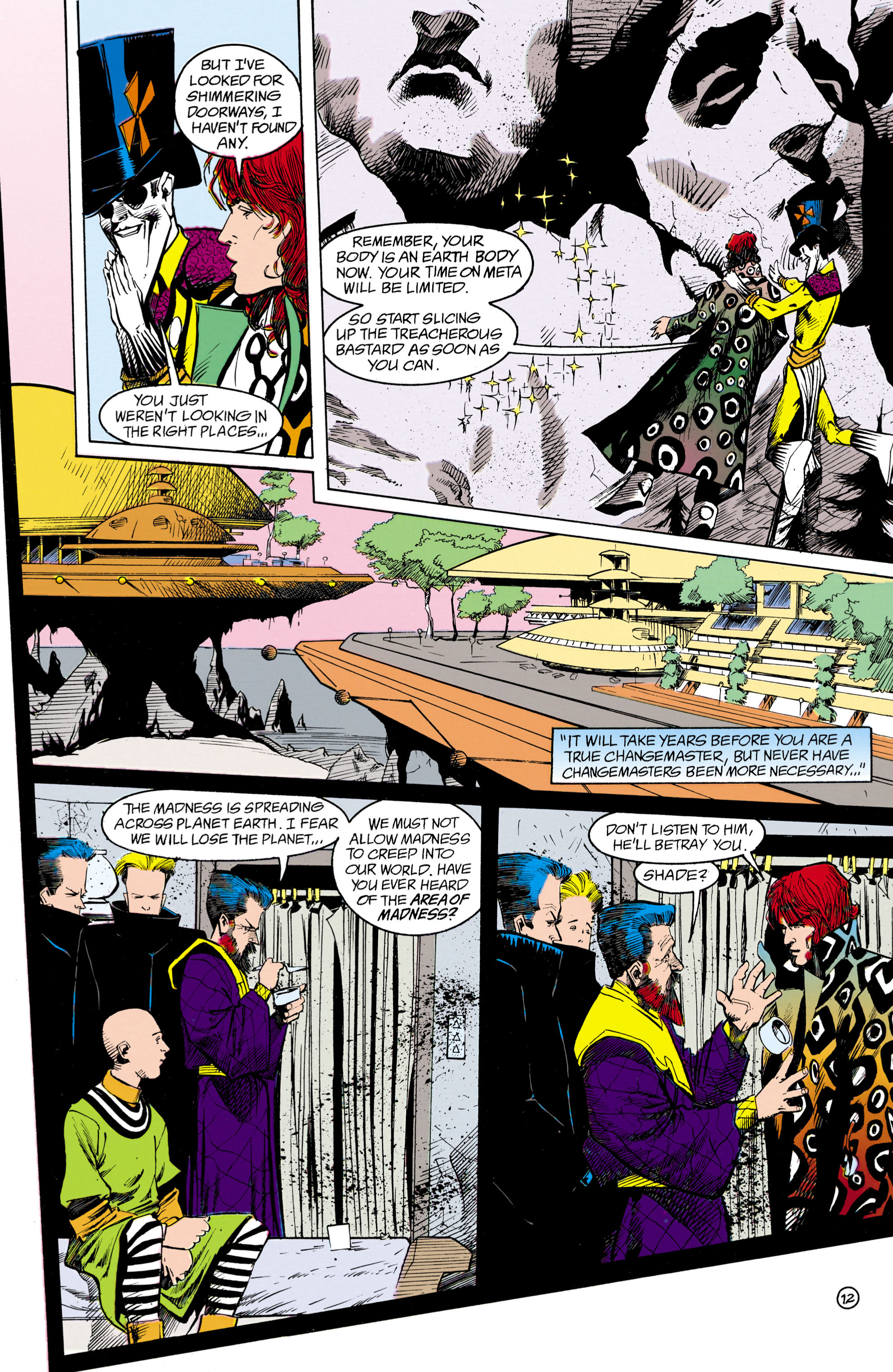 Read online Shade, the Changing Man comic -  Issue #18 - 12