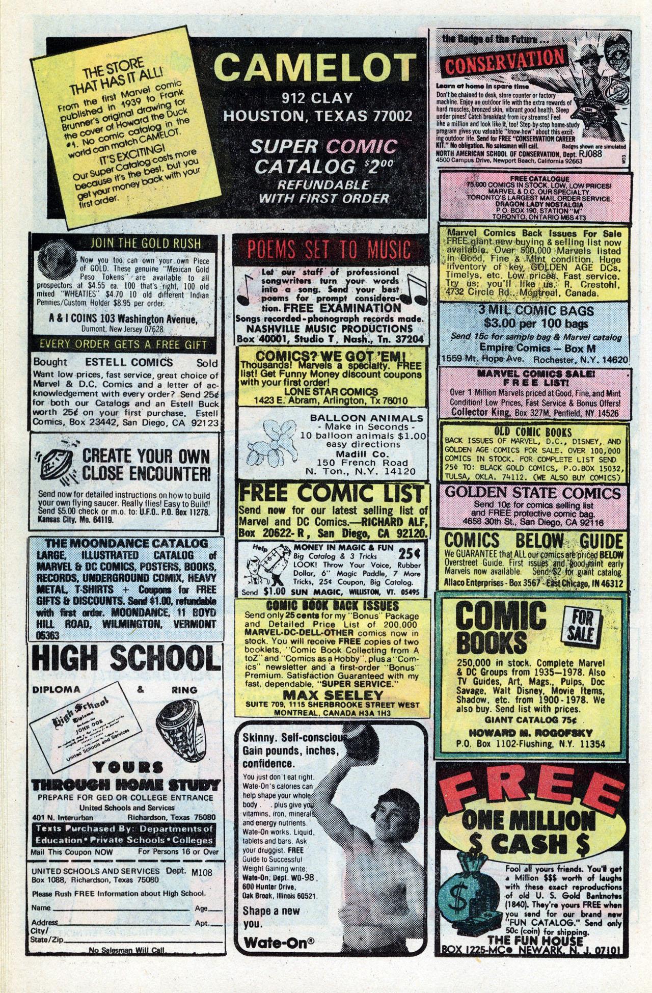 Read online TV Stars comic -  Issue #3 - 25