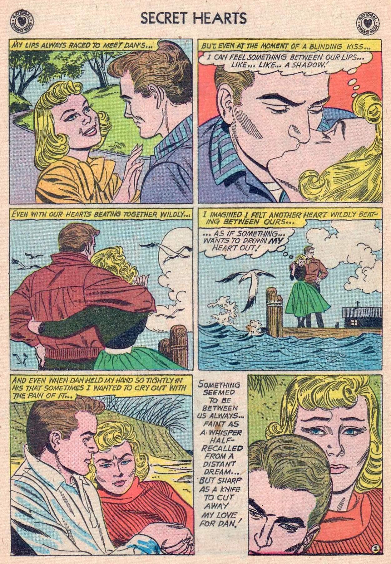Read online Secret Hearts comic -  Issue #67 - 28