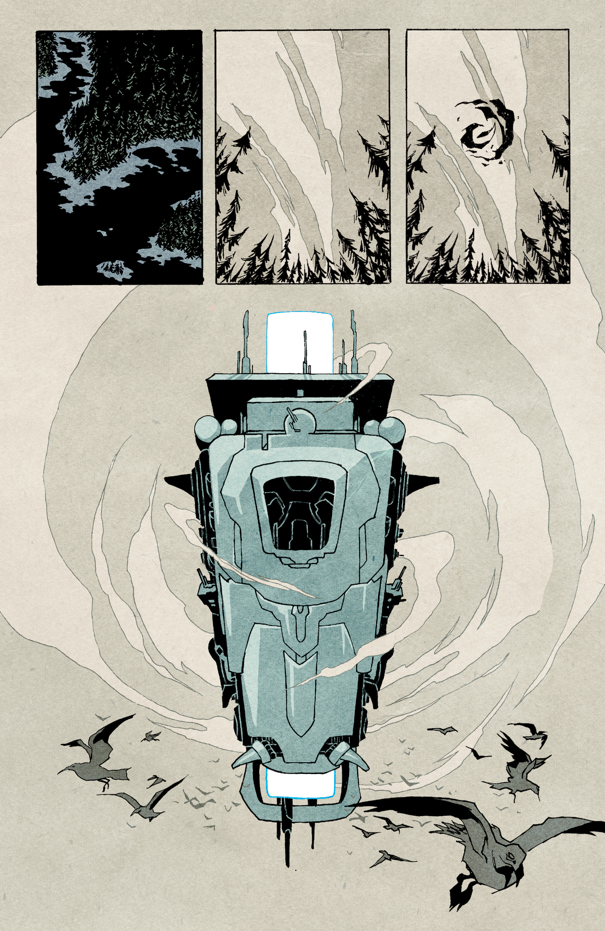 Read online Shipwreck comic -  Issue #4 - 21