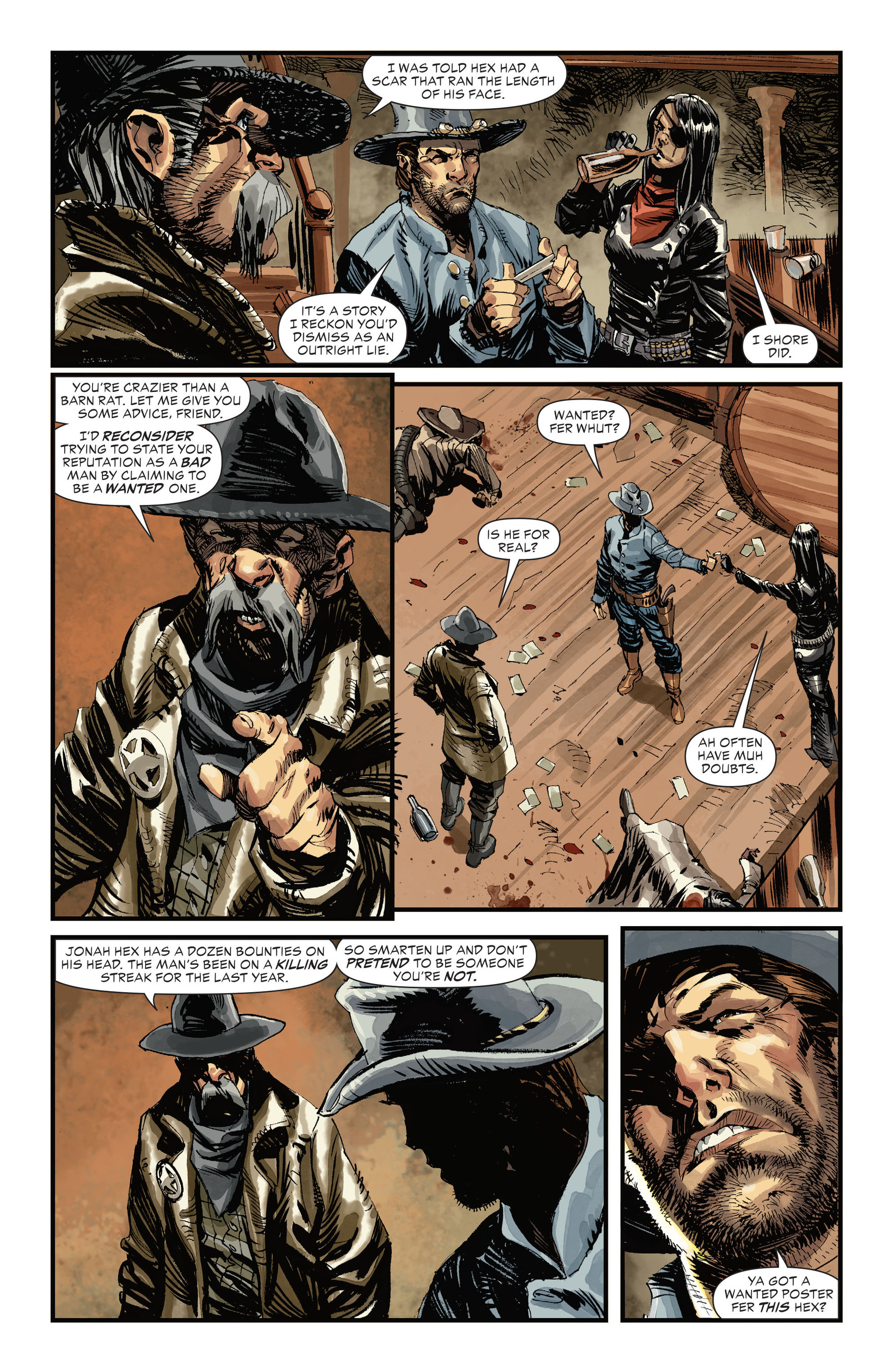 Read online All-Star Western (2011) comic -  Issue #31 - 11