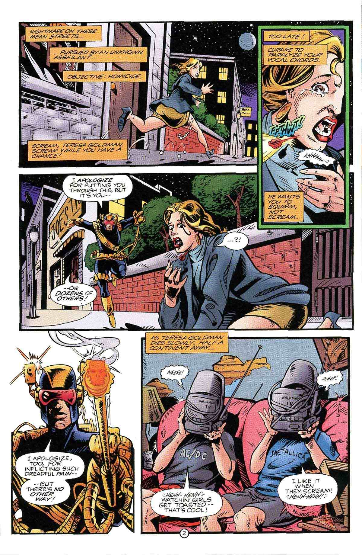 Read online Ultraverse Premiere comic -  Issue #10 - 22