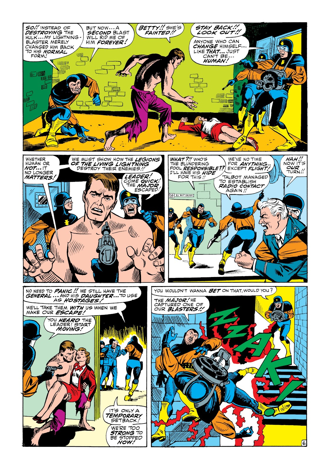 Read online Marvel Masterworks: The Incredible Hulk comic -  Issue # TPB 3 (Part 3) - 22