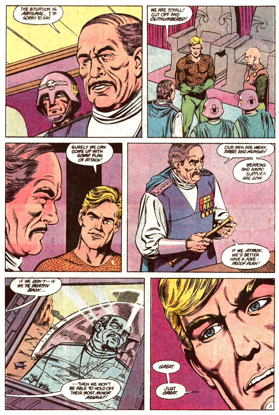 Read online Aquaman (1989) comic -  Issue #4 - 6