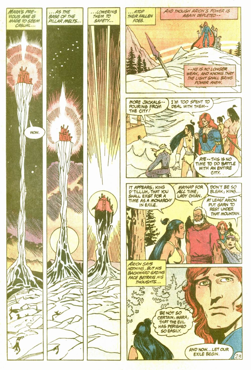 Read online Arion, Lord of Atlantis comic -  Issue #5 - 23